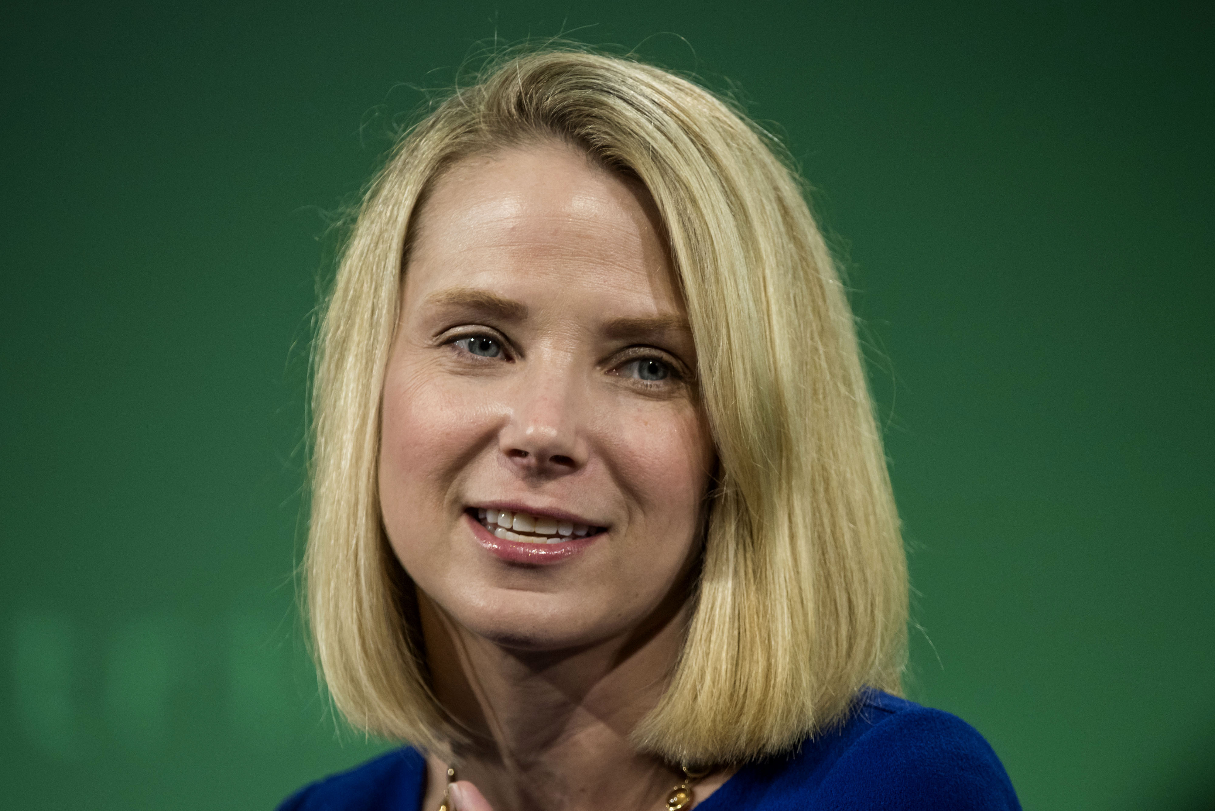 Marissa Mayer, president and chief executive officer at Yahoo! Inc., during the 2015 Bloomberg Technology Conference in San Francisco on June 16, 2015.
