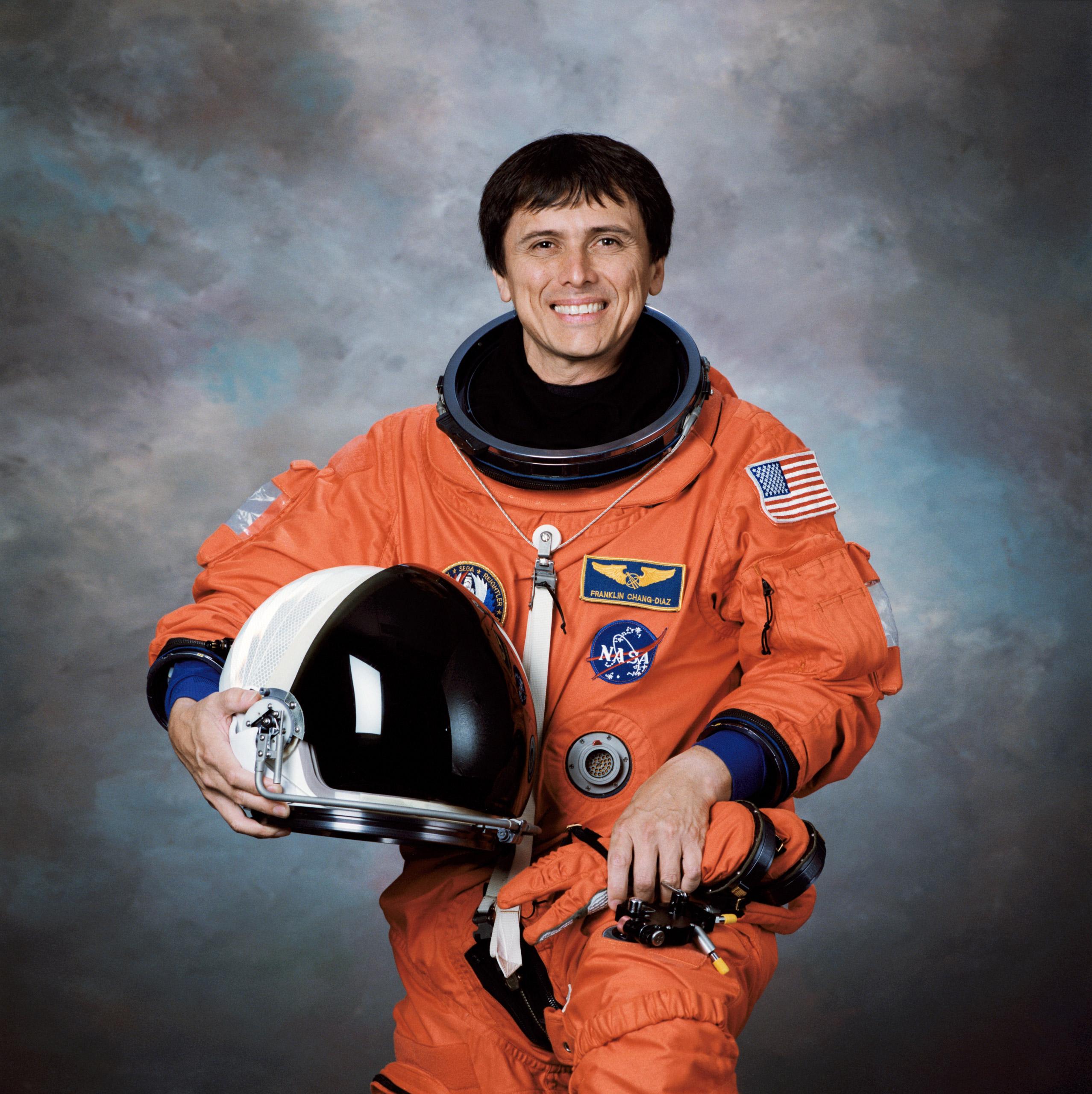 Astronaut Franklin R. Chang-Diaz. 1997.