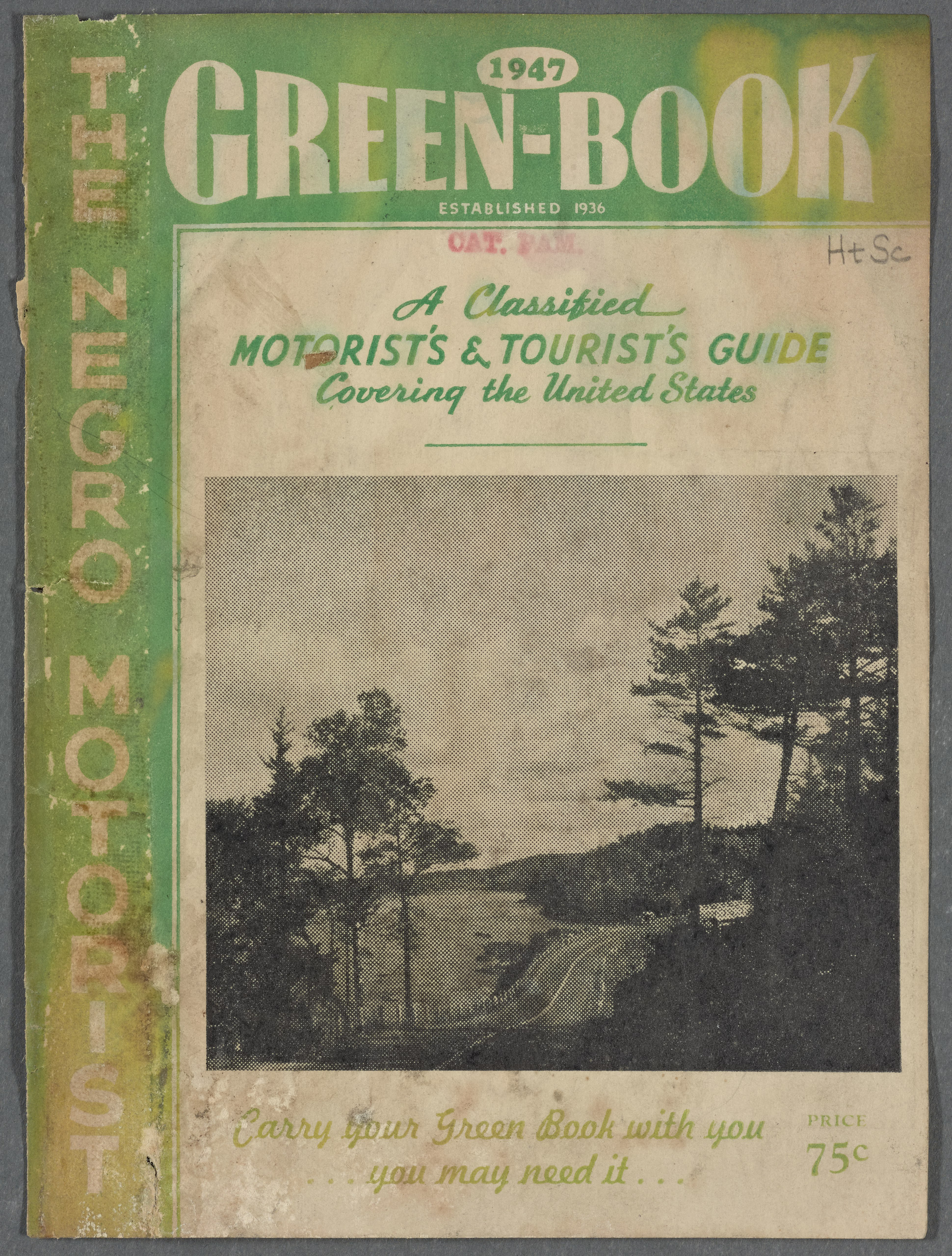 The Travelers' Green Book: 1947.