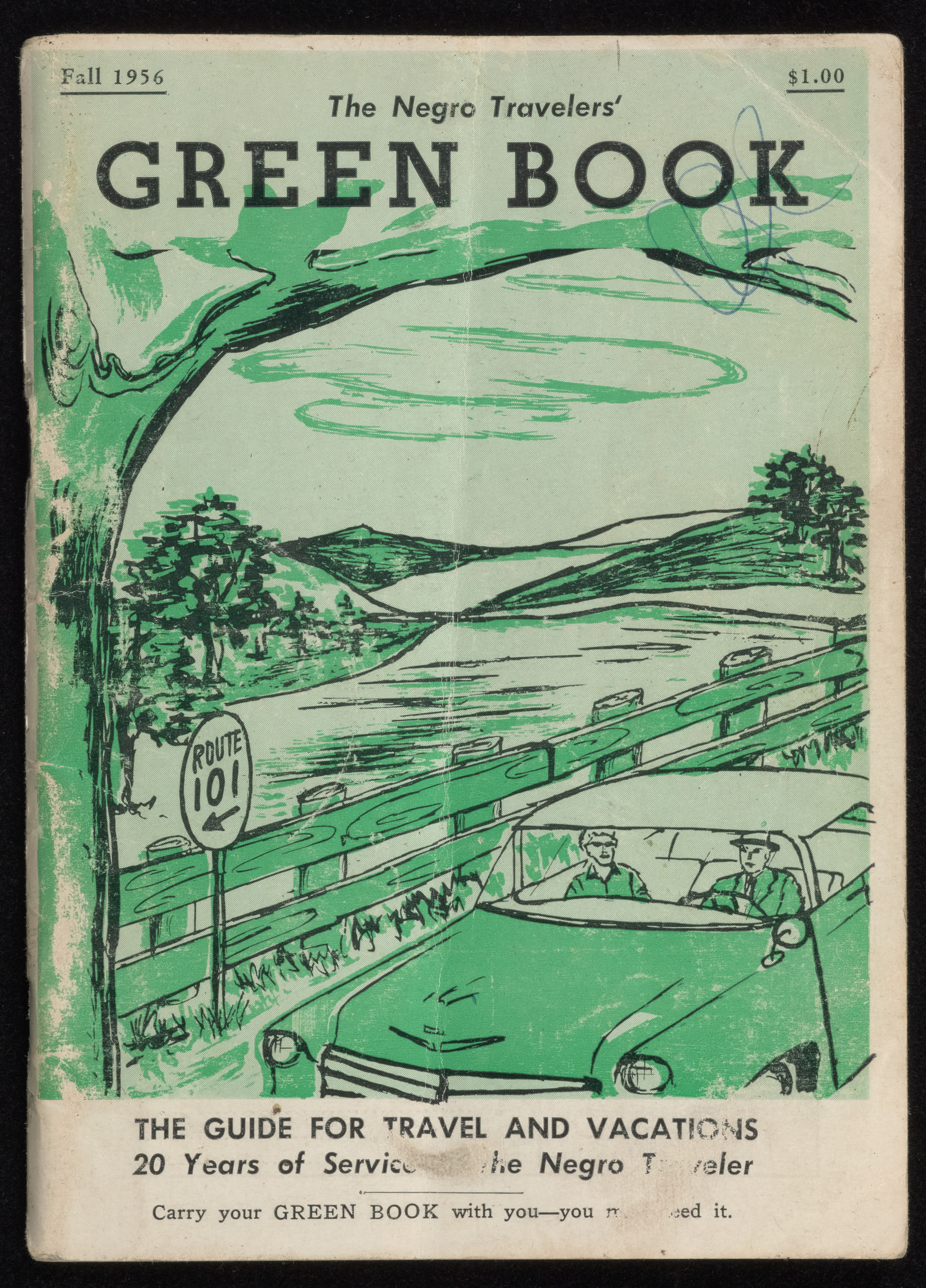 The Travelers' Green Book: 1956.