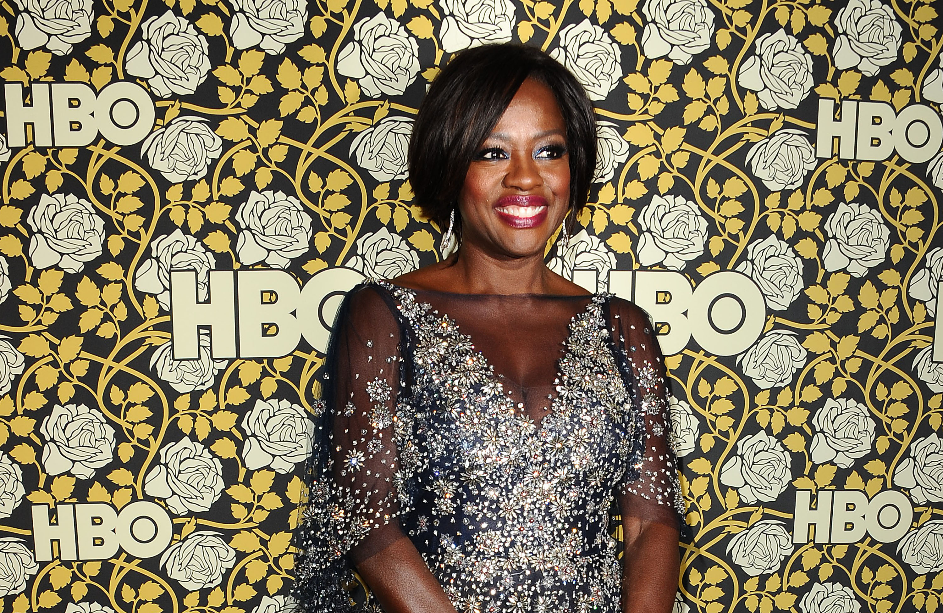 Actress Viola Davis attends HBO's post 2016 Golden Globe Awards party at Circa 55 Restaurant on Jan. 10, 2016 in Los Angeles, California.