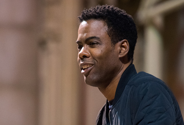 Chris Rock speaks at the 2016 MLK Now at Riverside Church on January 18, 2016 in New York City. Noam Galai—Getty Images