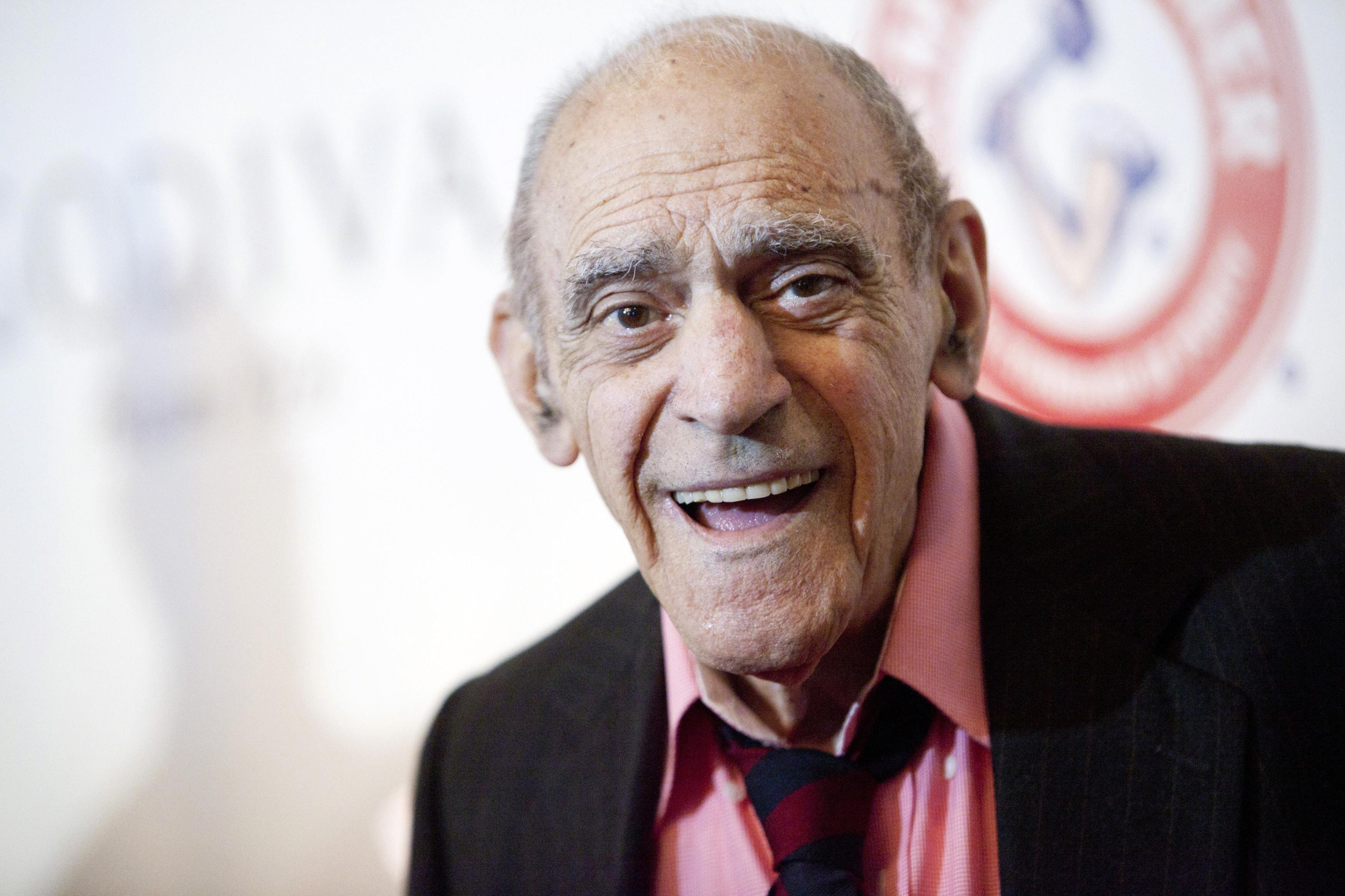 Abe Vigoda attends the Friars Club Roast of Betty White in New York City on May 16, 2012.