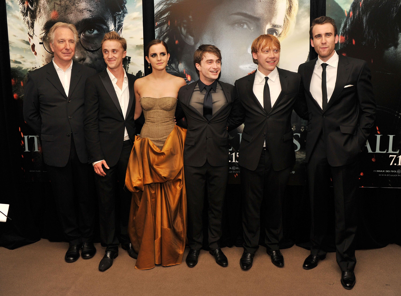 Alan Rickman Death Harry Potter Co Stars Pay Tribute Time