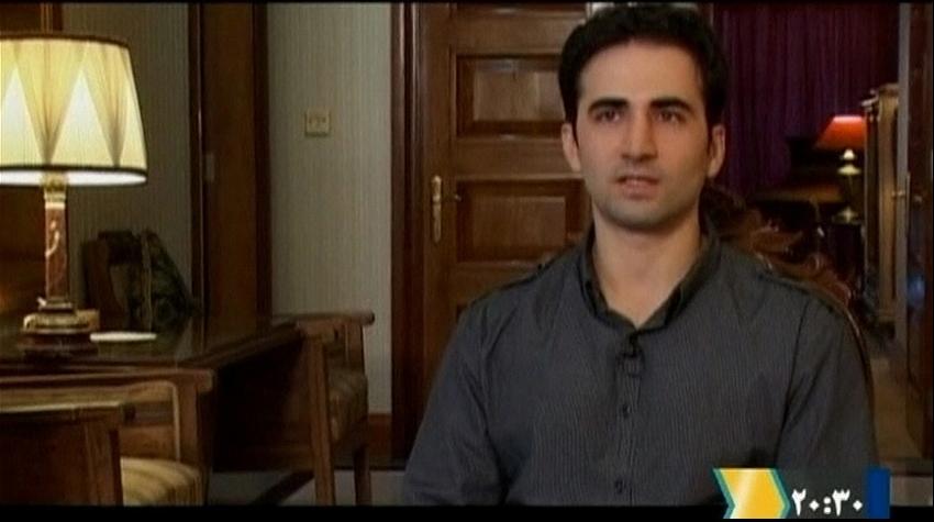 Iranian-American Amir Mirza Hekmati on January 9, 2012.