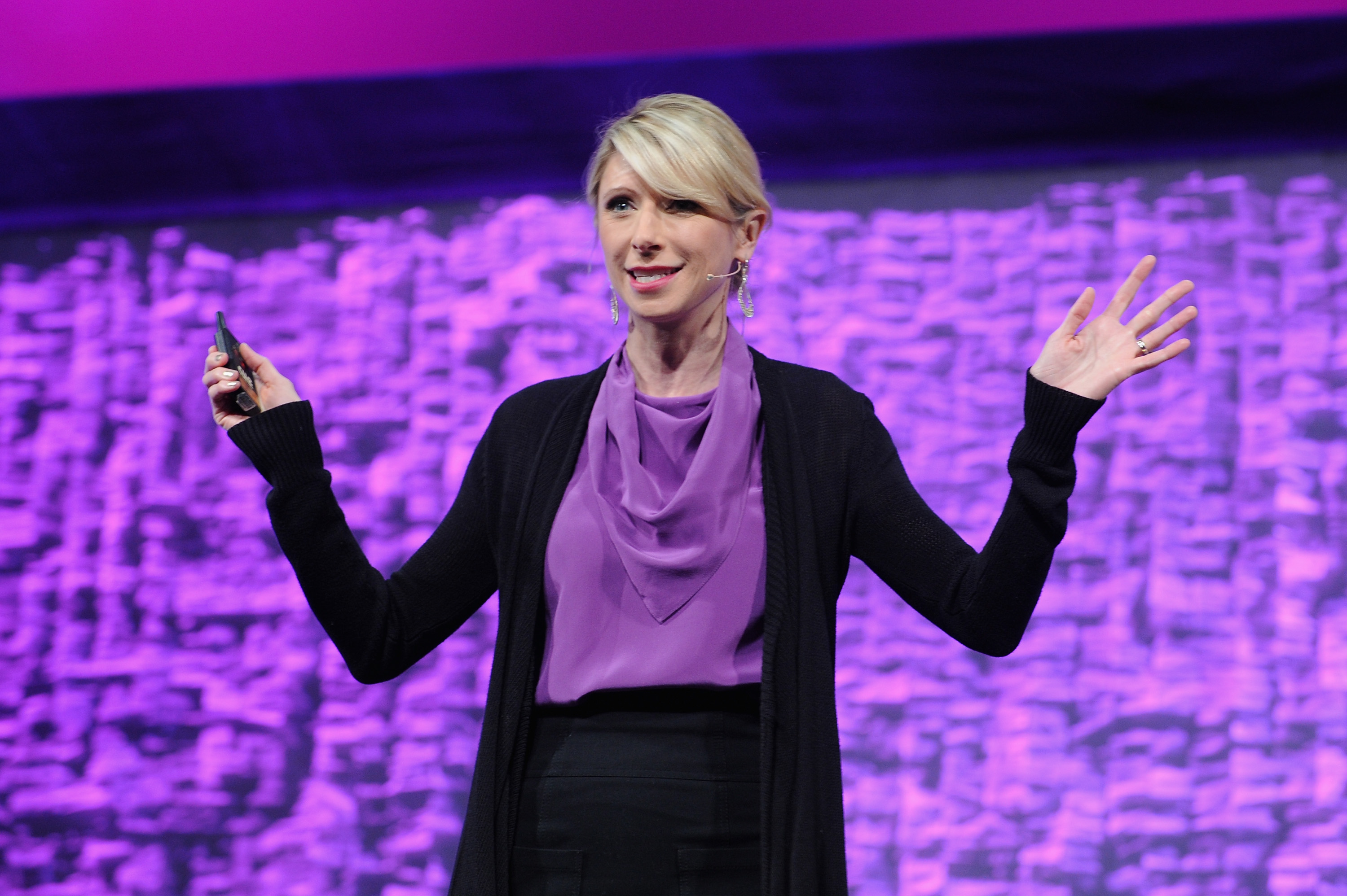 Amy Cuddy at Cosmopolitan Magazine's Fun Fearless Life Conference in New York City on Nov. 8, 2014.
