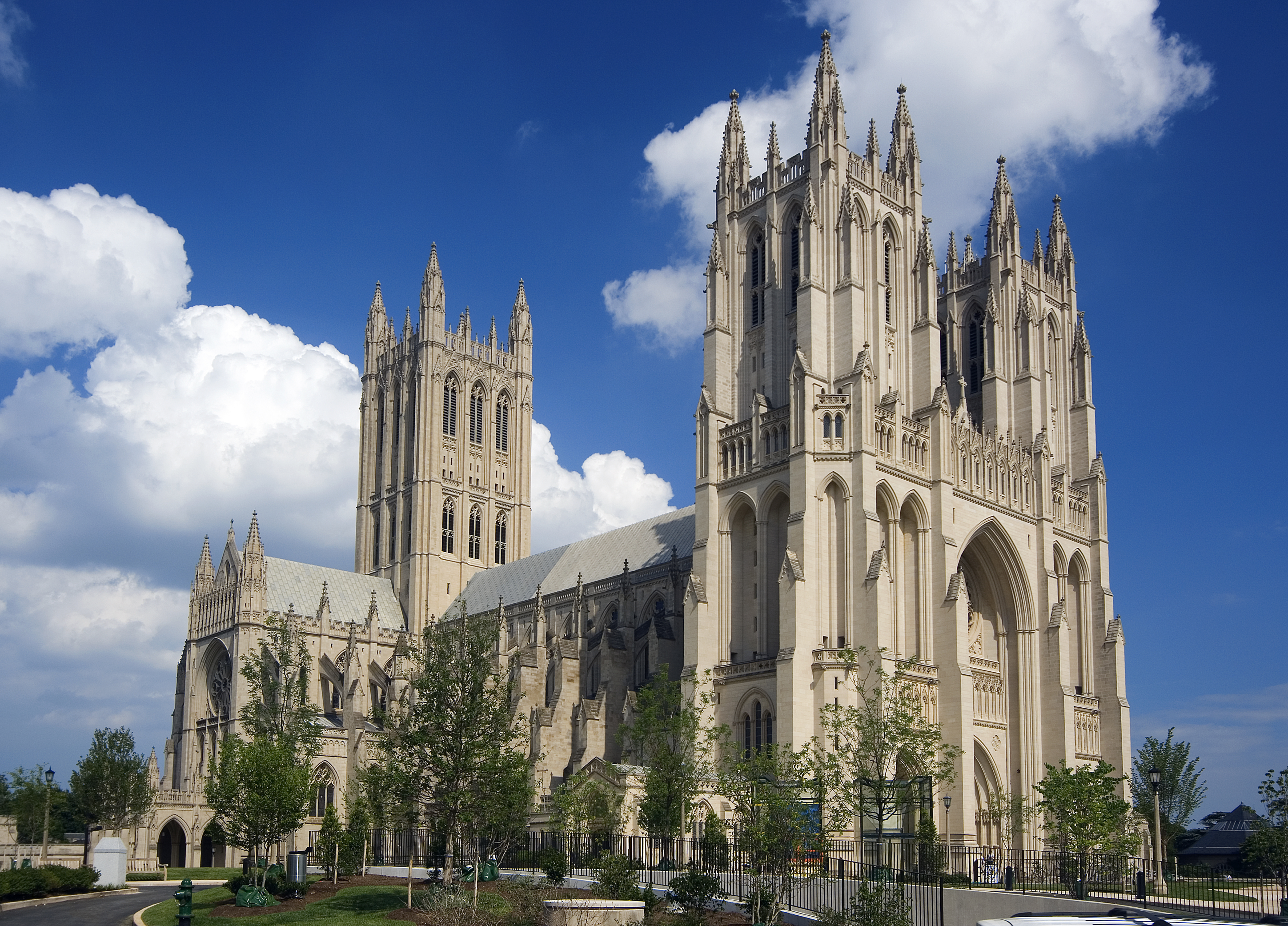 The Washington National Cathedral in Washington, D.C.
