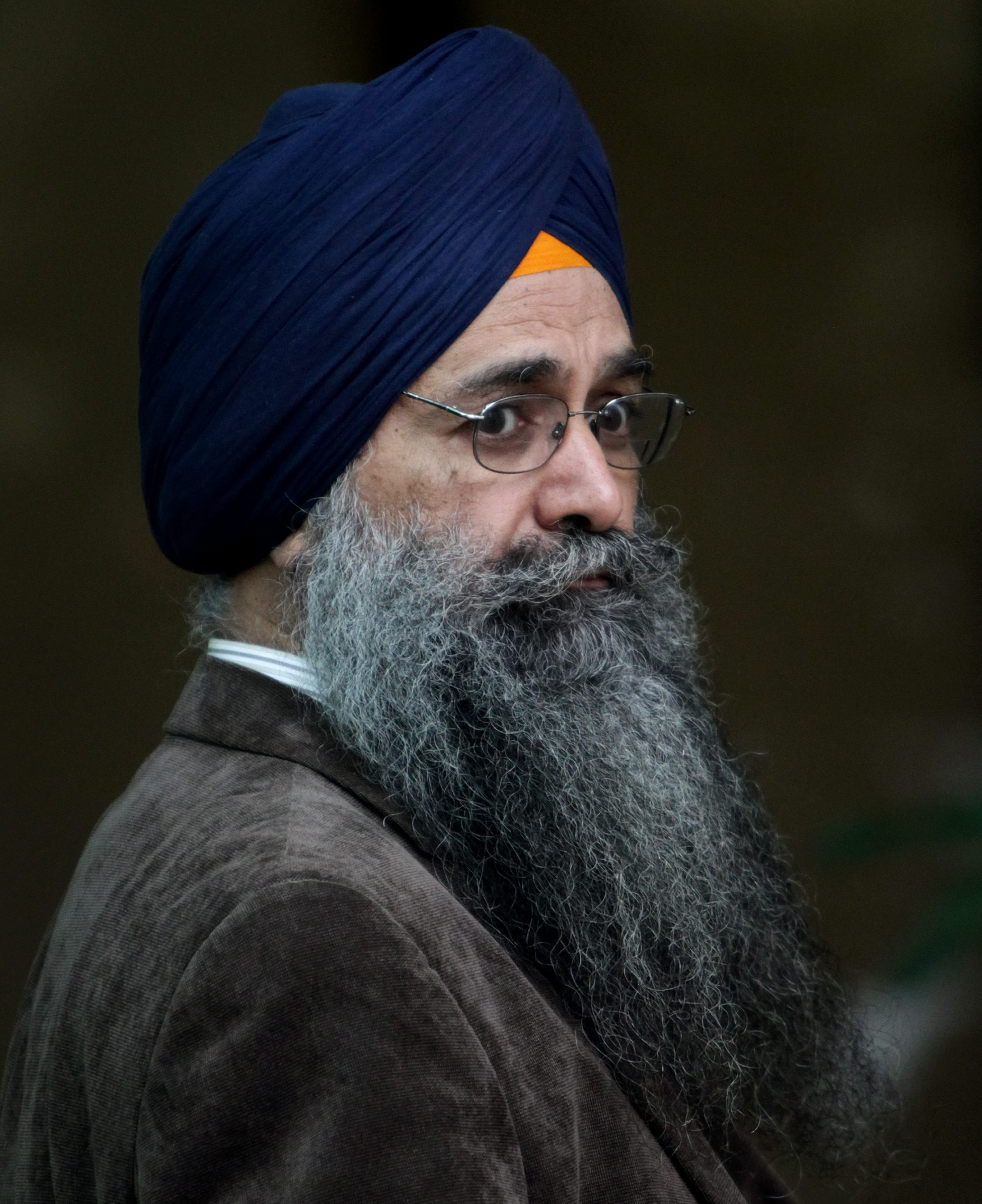 Inderjit Singh Reyat, the only man ever convicted in the Air India bombings of 1985, outside the British Columbia Supreme Court on Friday September 10, 2010