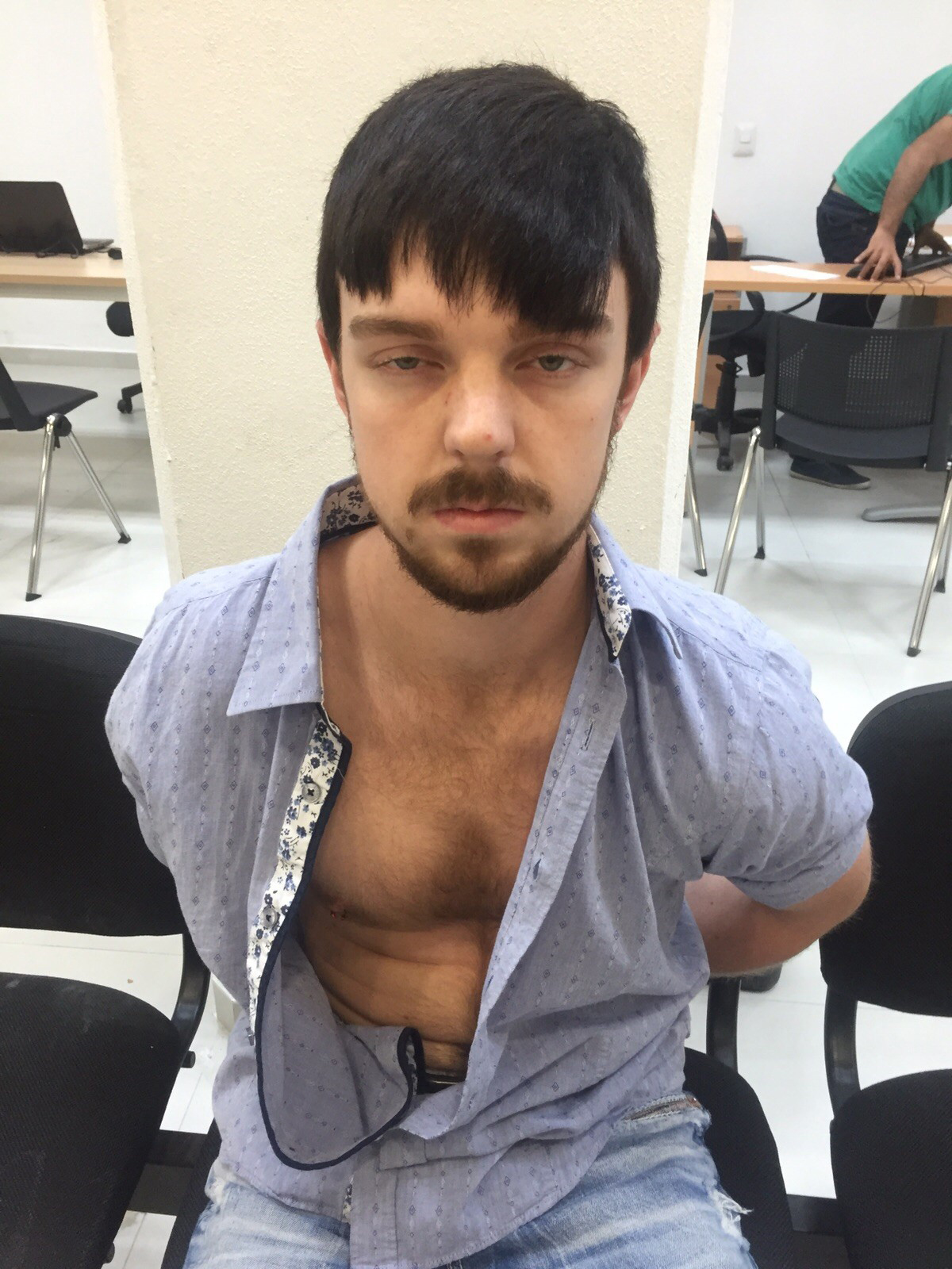 Authorities identify Ethan Couch after he was taken into custody in Puerto Vallarta, Mexico. Dec. 28, 2015.