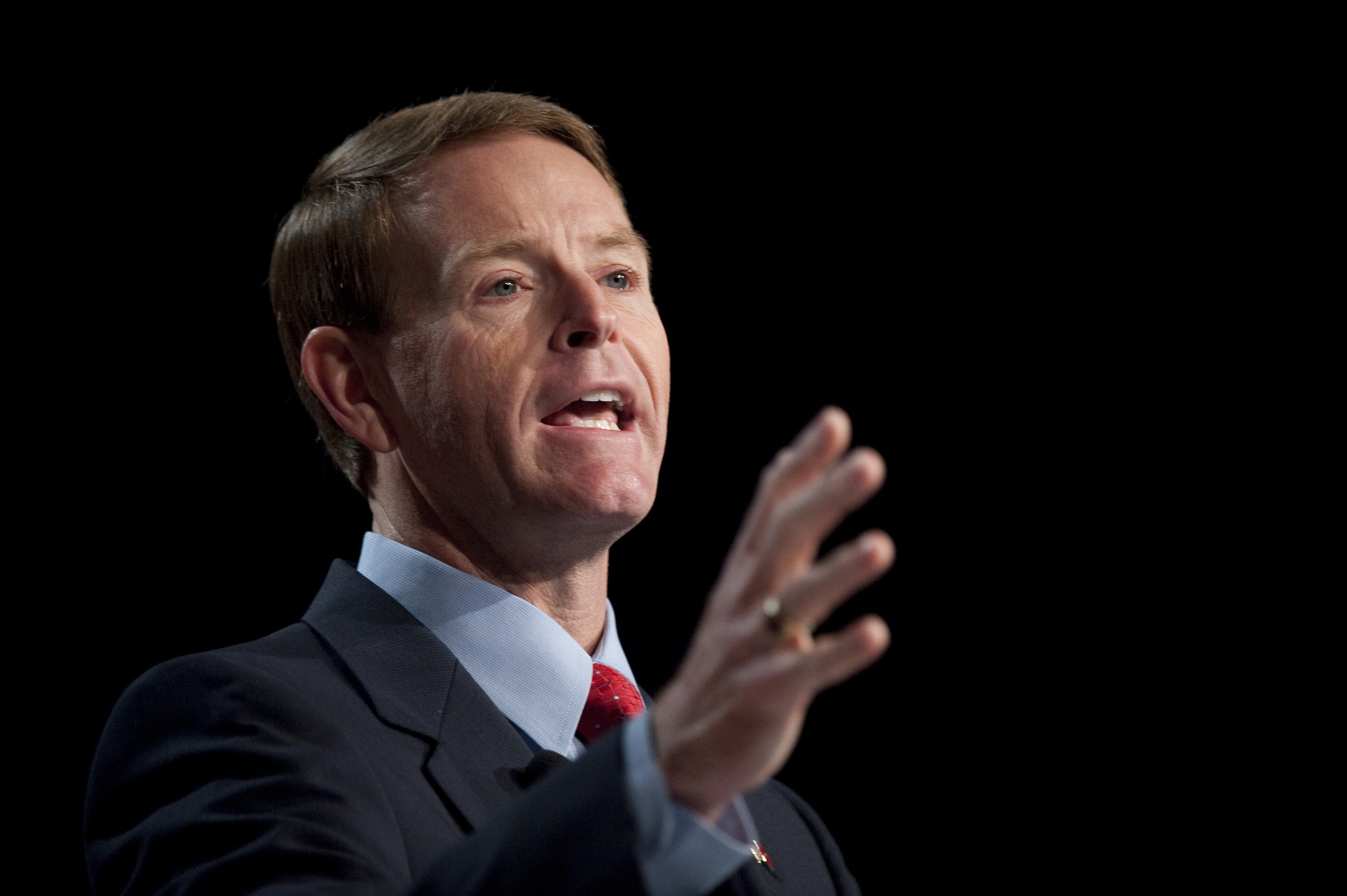 Tony Perkins, president of the Family Research Council, speaks at the Family Research Council's Values Voter Summit in Washington on Oct. 7, 2011.