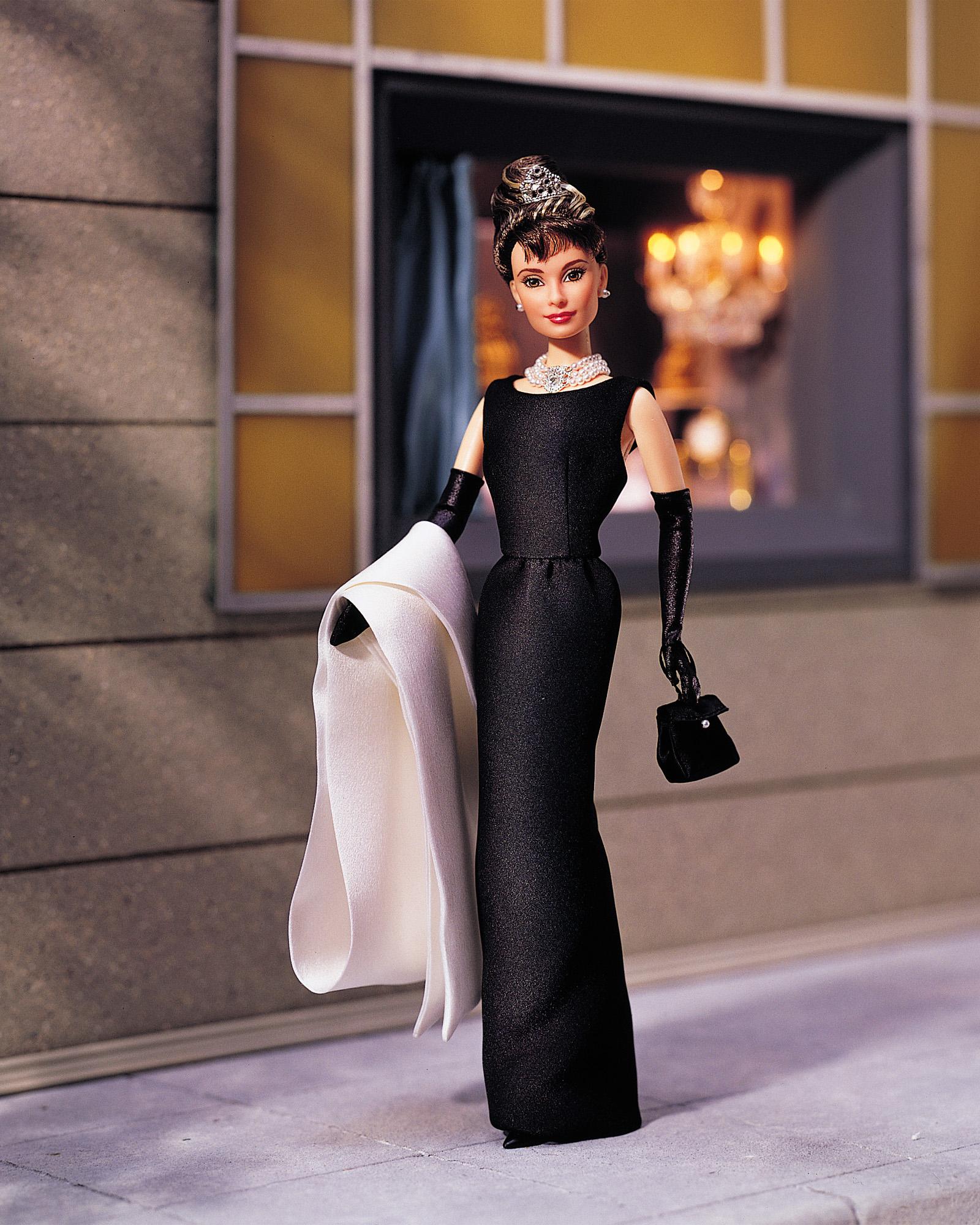 The Audrey Hepburn Barbie, released in 1998.