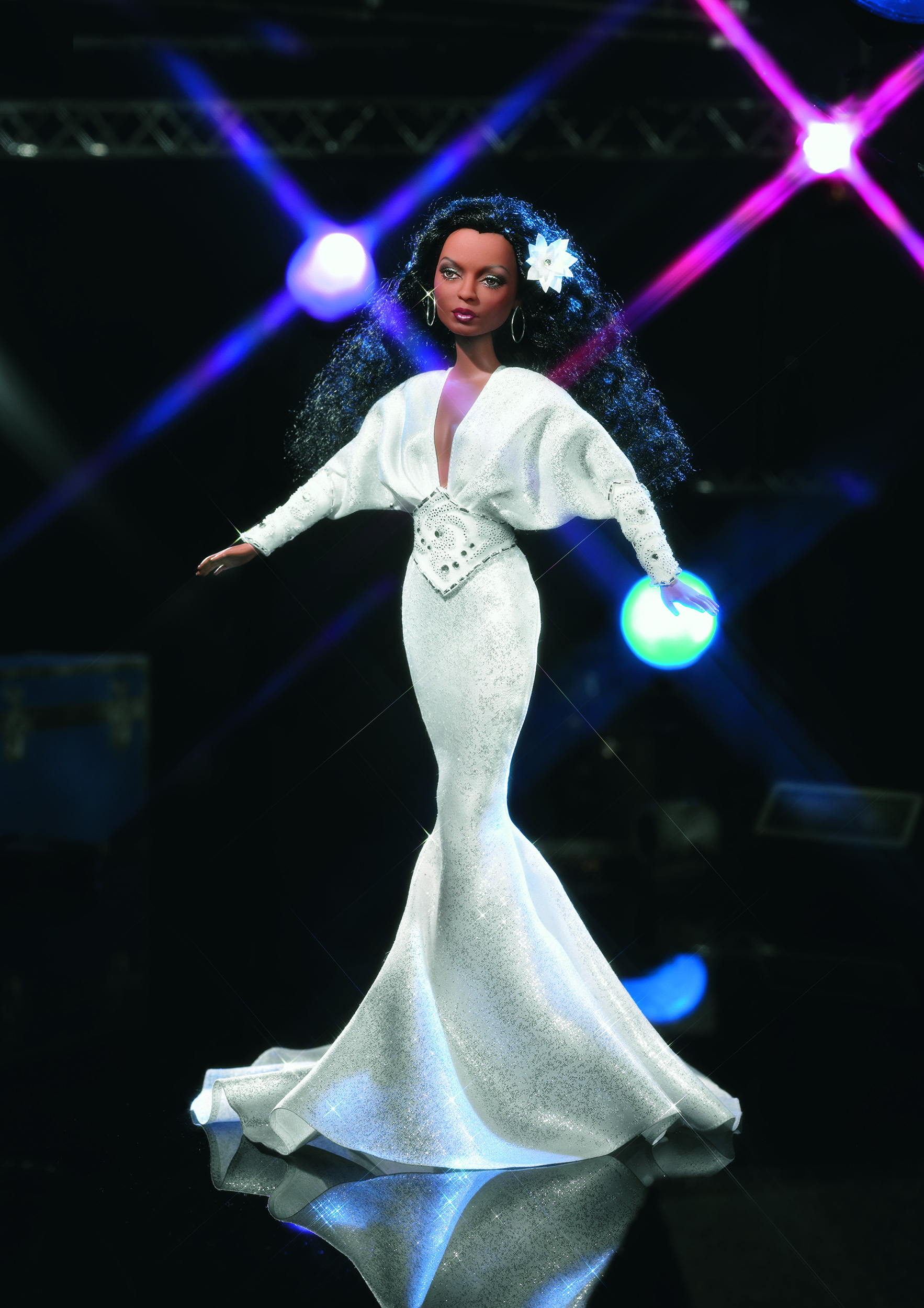 The Diana Ross Barbie,  released in 2003.