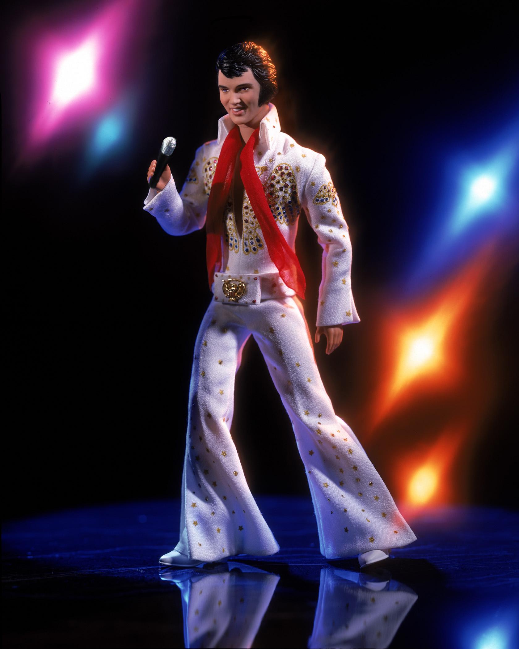 The Elvis Presley Barbie, released in 2001.