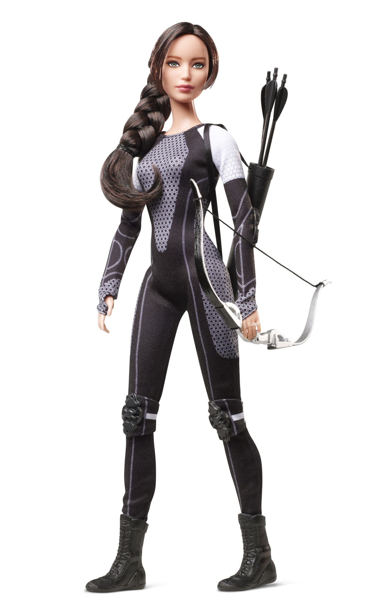 The Hunger Games: Catching Fire  Katniss Barbie, released in 2013.