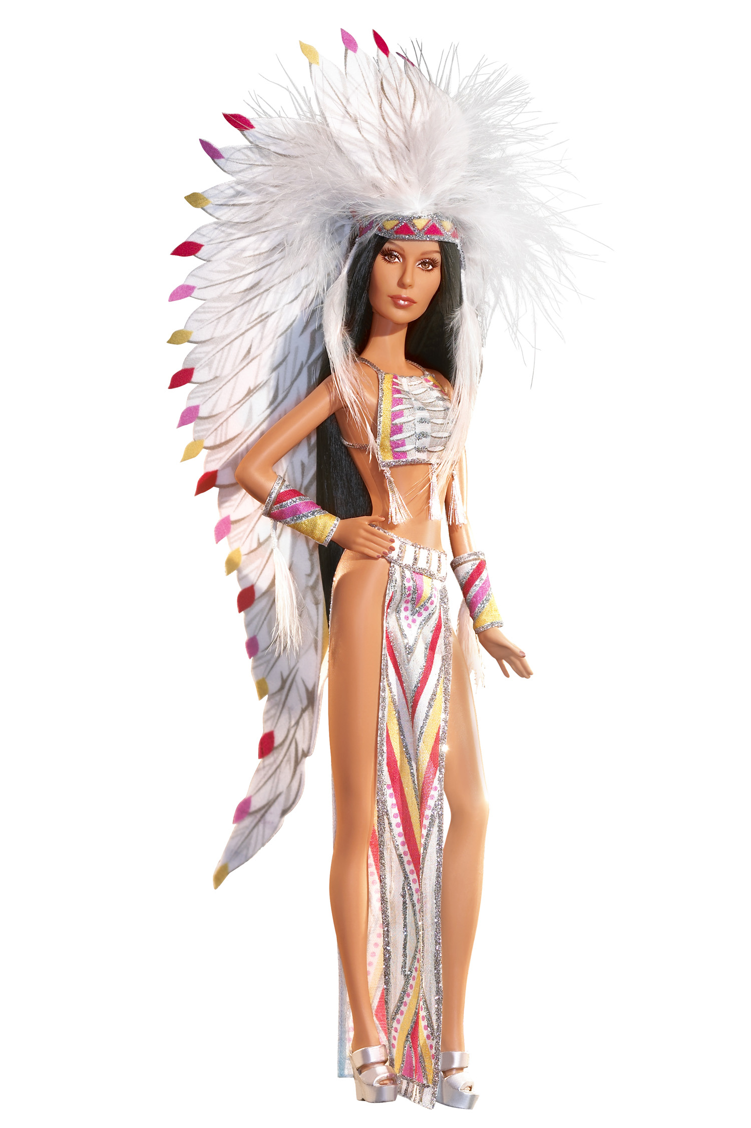 The 70's Cher Barbie, released in 2007.