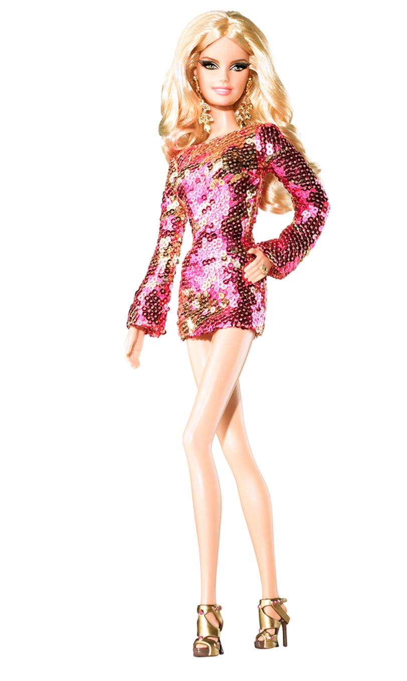 The Heidi Klum Barbie, released in 2009.