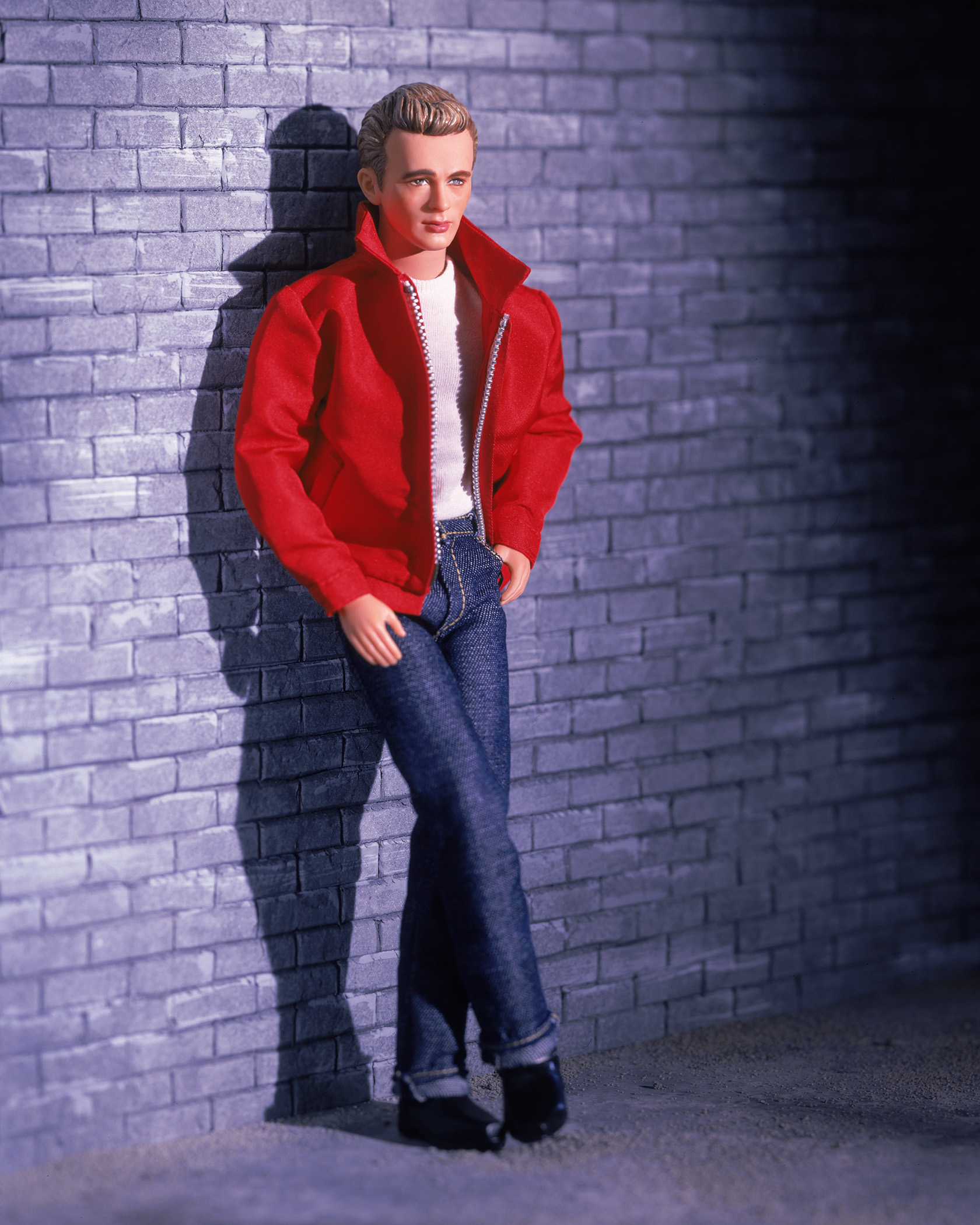 The James Dean Barbie, released in 2001.