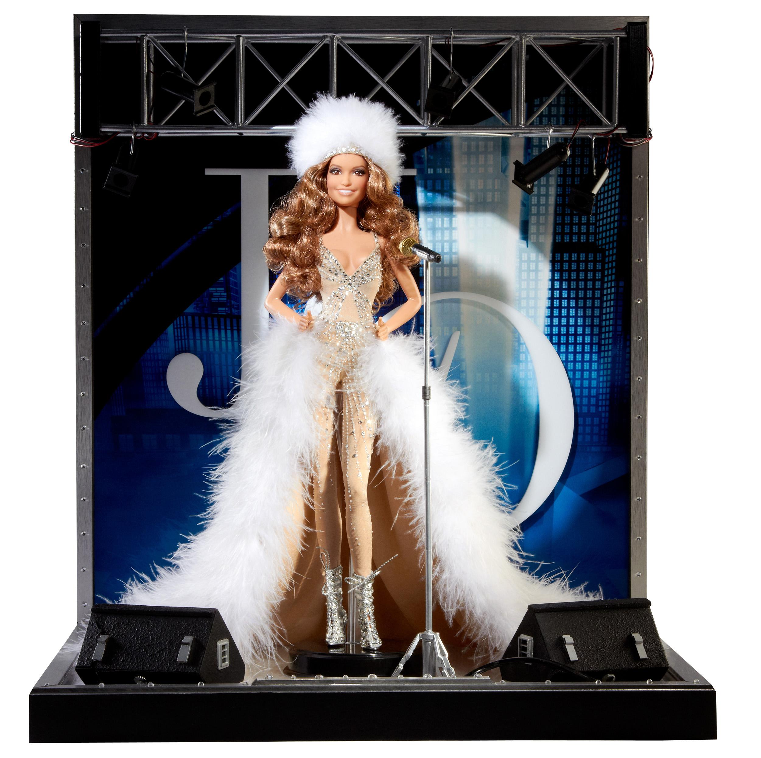 The Jennifer Lopez Barbie, released in 2013.