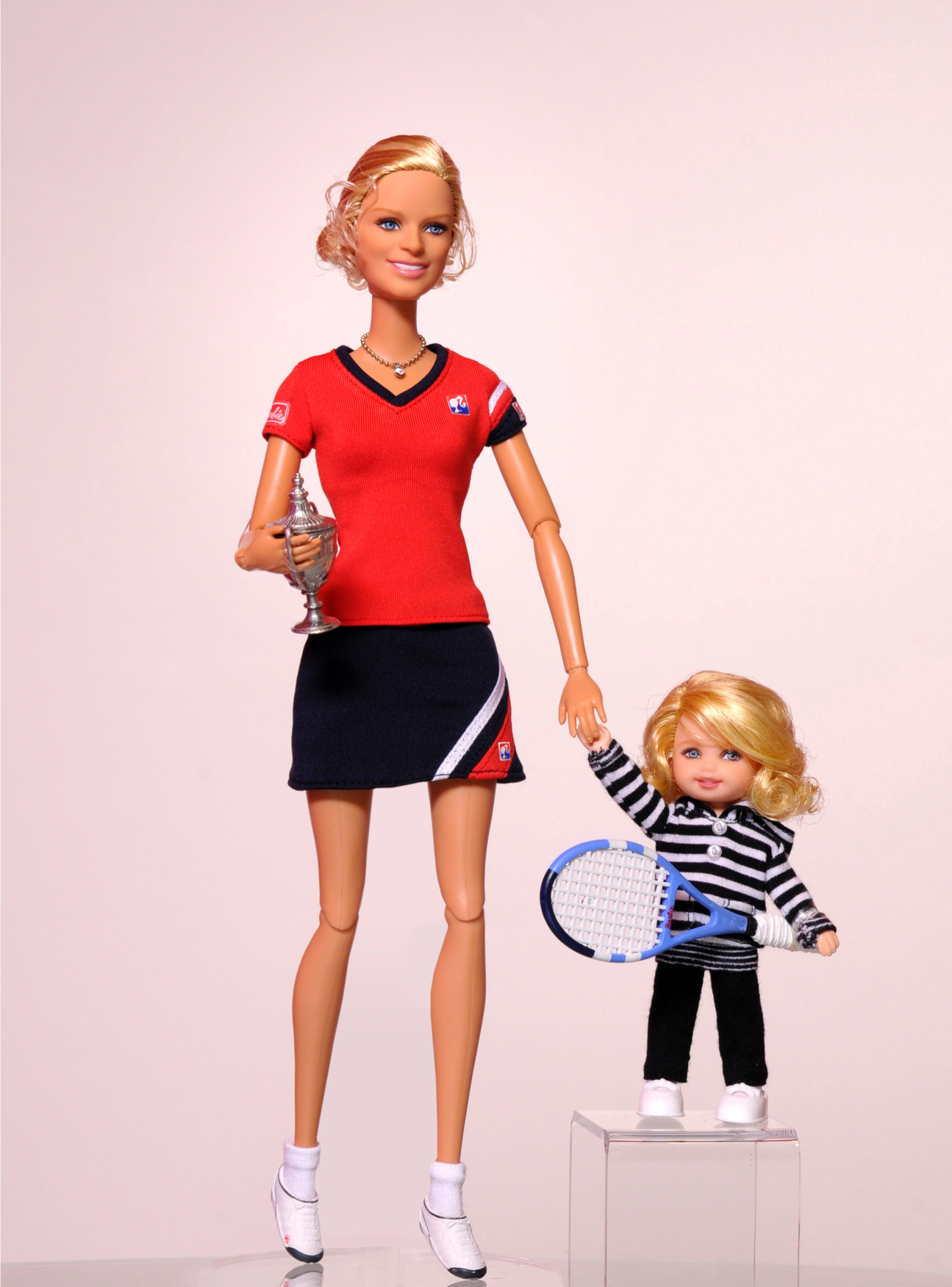 The Kim Clijsters Barbie, released in 2010.