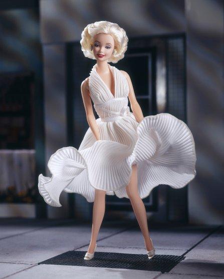 The Marilyn Monroe Barbie, released in 1997.