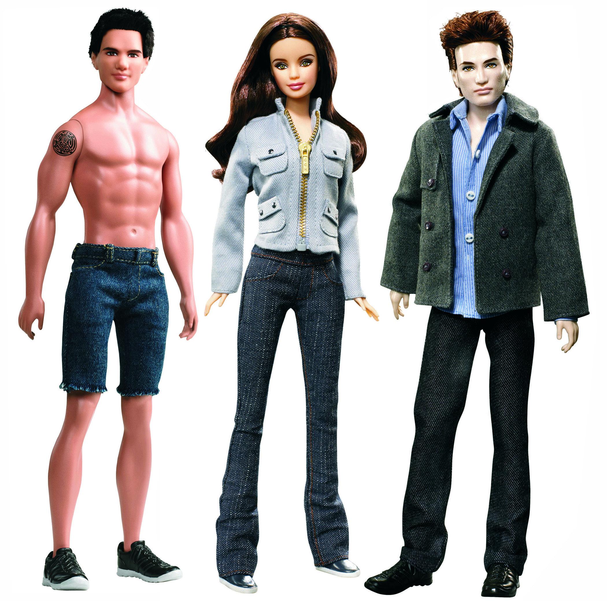The Twilight Saga Barbies, released in 2010.