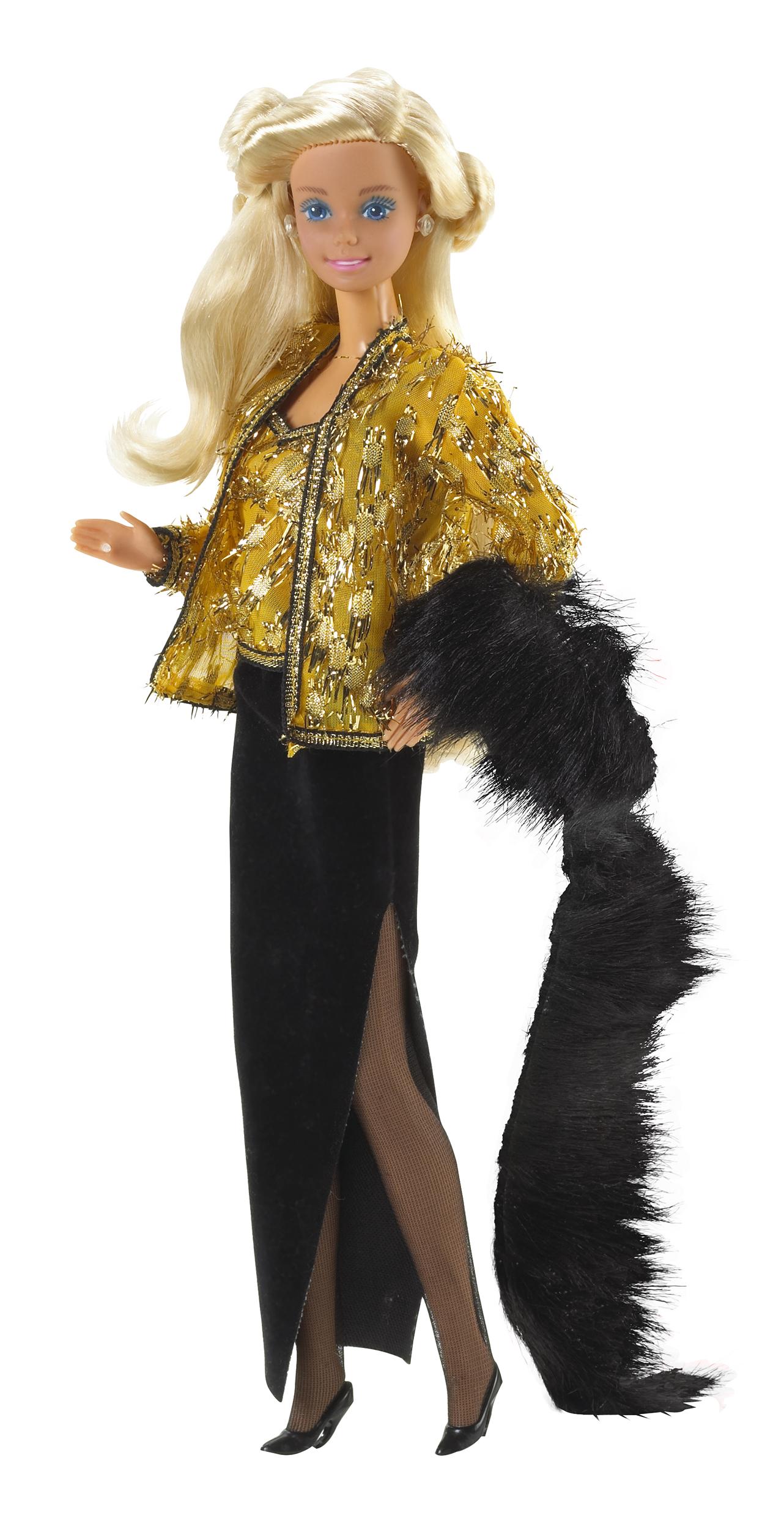 The Oscar de la Renta Barbie Doll, released in 1985.