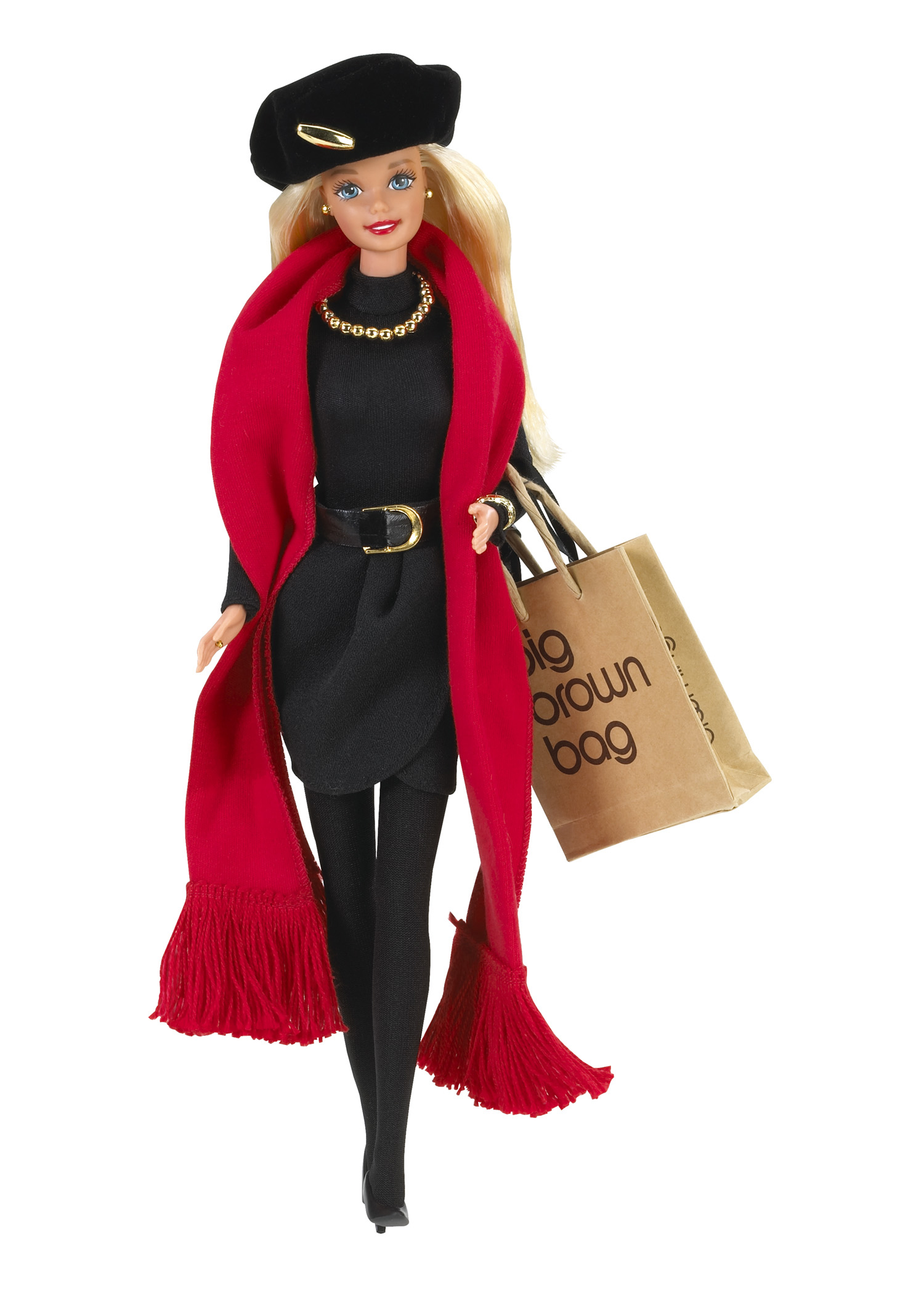 The Donna Karan Barbie Doll, released in 1995.