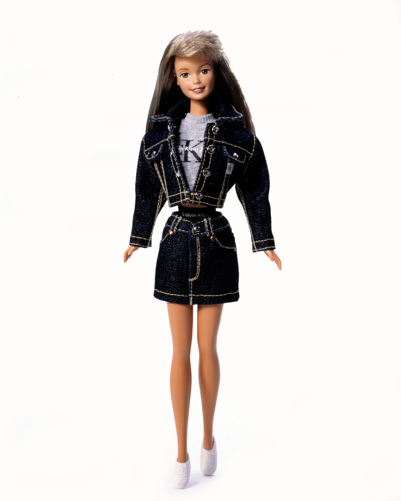 The Calvin Klein Barbie Doll, released in 1996.