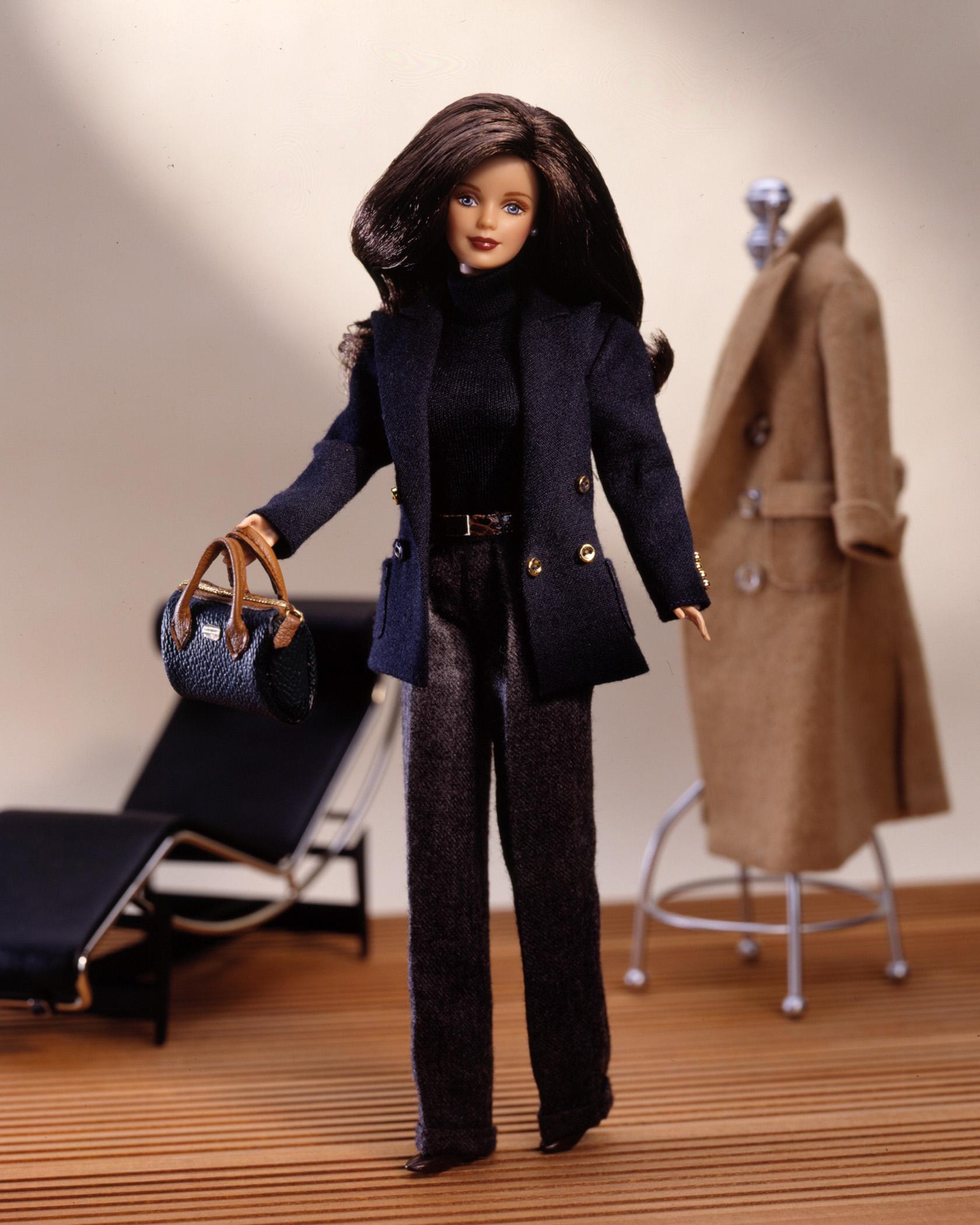 The Ralph Lauren Barbie Doll, released in 1996.