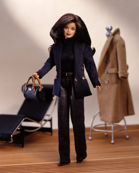 The Ralph Lauren Barbie Doll released in 1996.