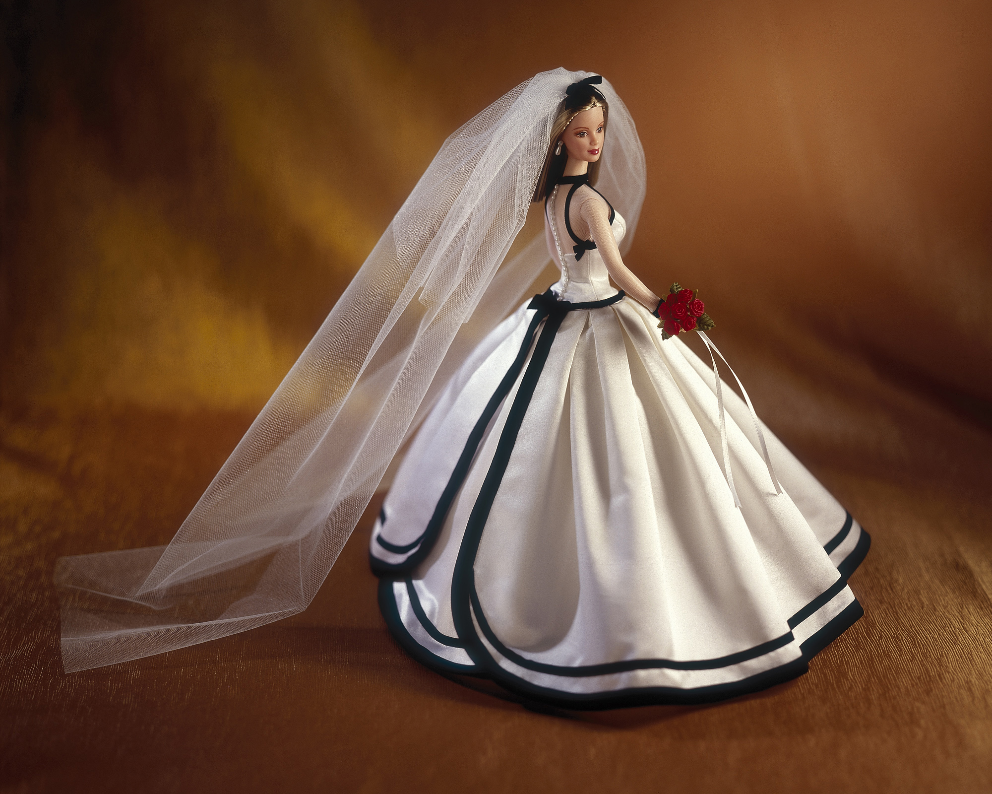 The Vera Wang Barbie Doll, released in 1998.
