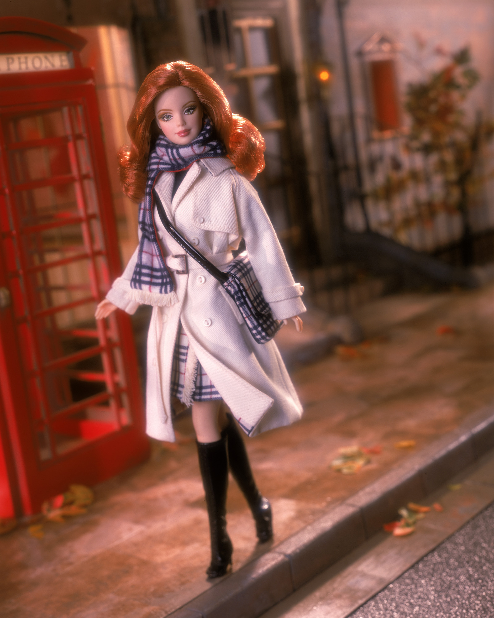 The Burberry Barbie Doll, released in 2001.