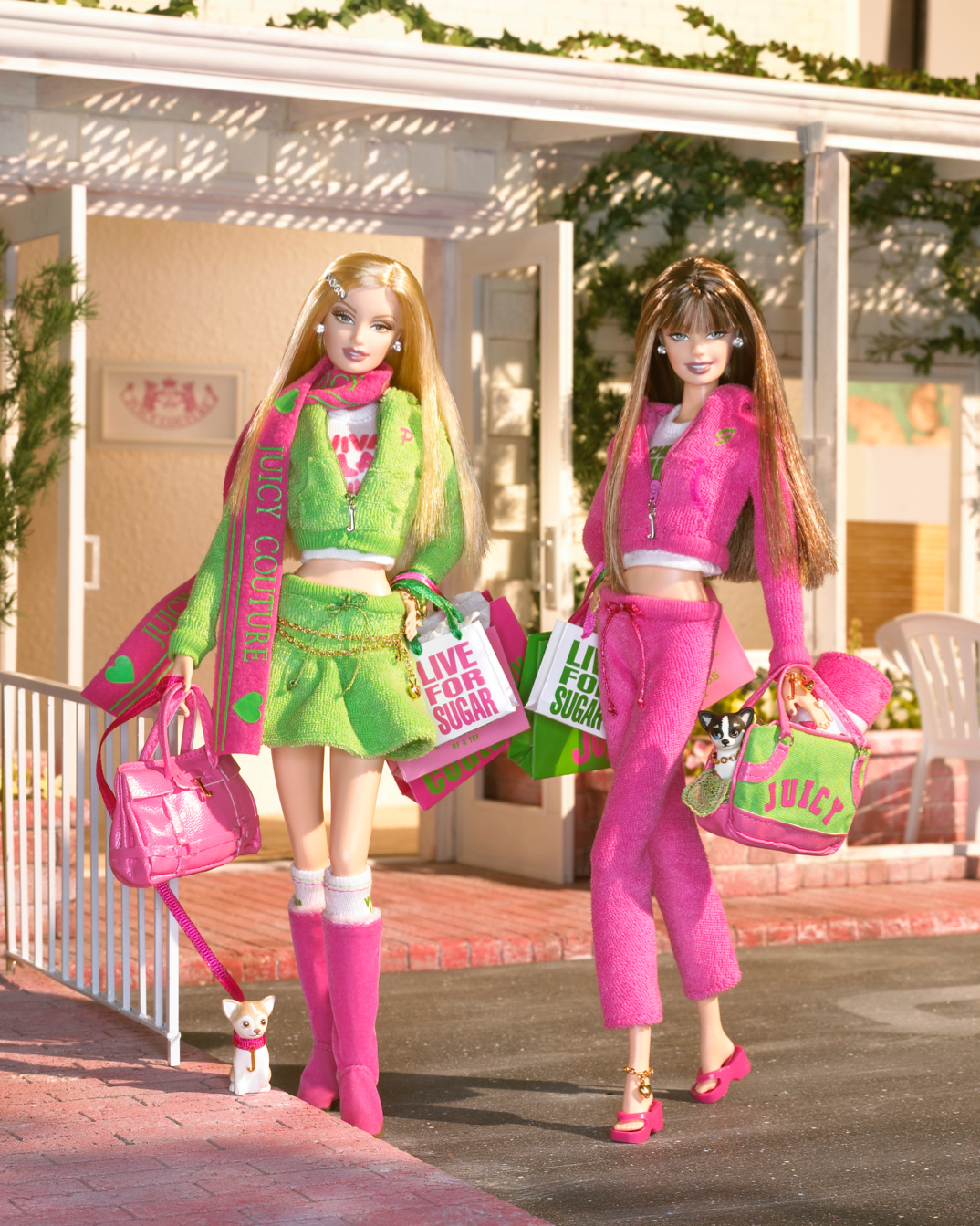 The Juicy Couture Barbie Doll, released in 2004.