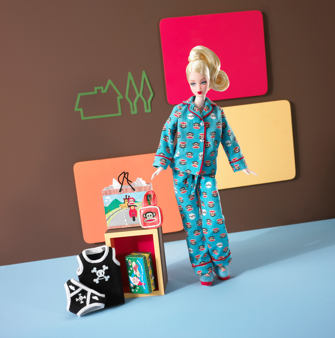 The Paul Frank Barbie Doll, released in 2004.