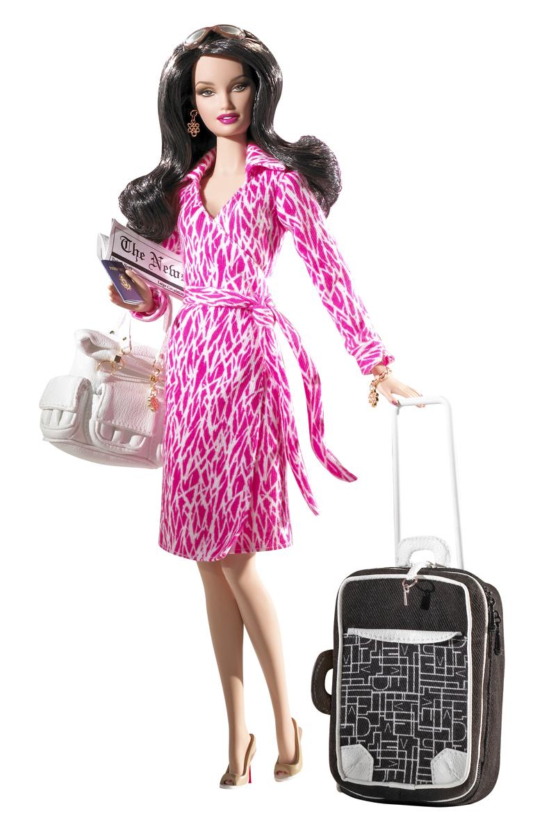 The Diane Von Furstenberg Barbie Doll, released in 2006.