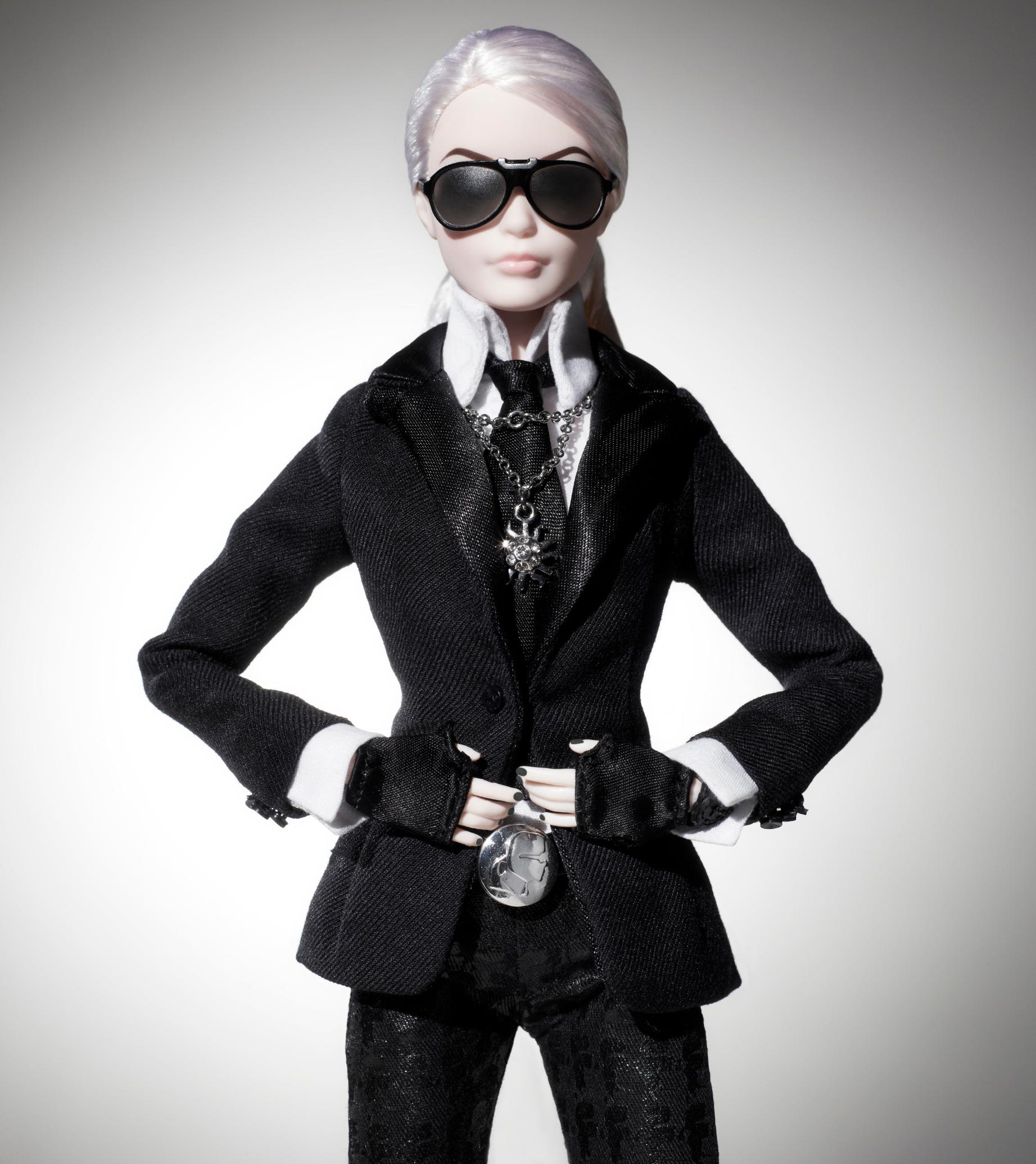 The Karl Lagerfeld Barbie Doll, released in 2014.