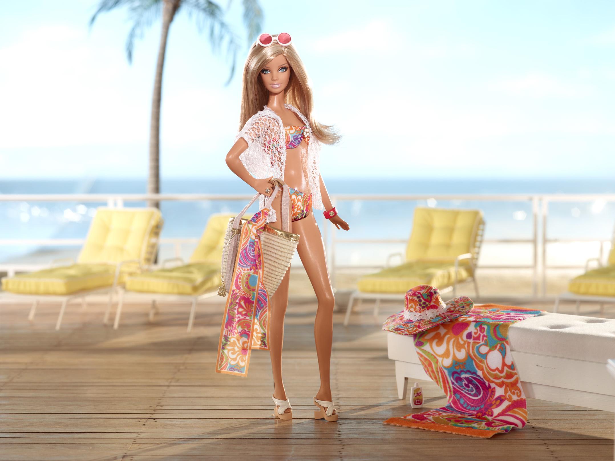 The Trina Turk Malibu Barbie Doll, released in 2013.