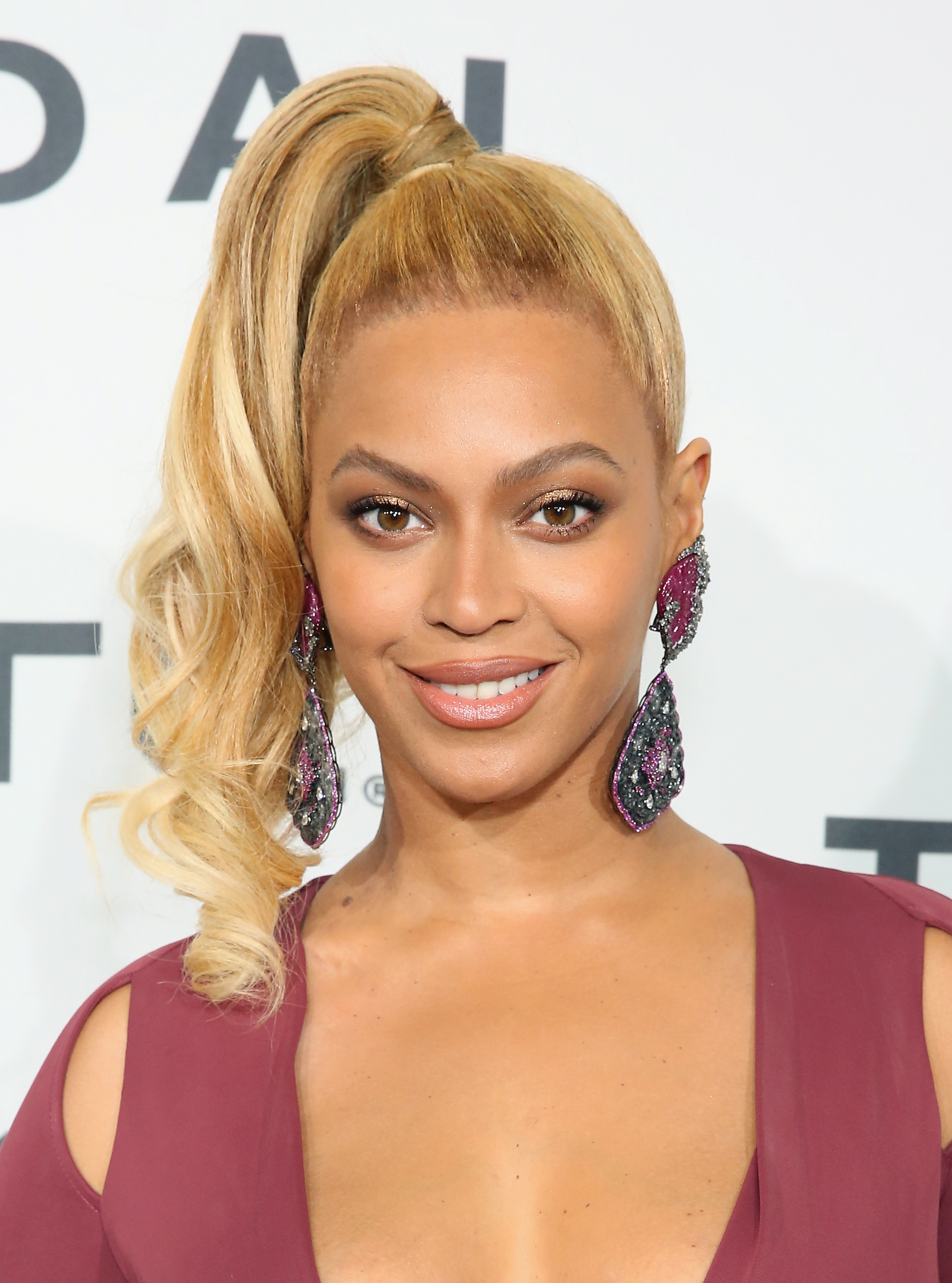 Beyoncé attends TIDAL X: 1020 in the Brooklyn borough of New York City on Oct. 20, 2015.