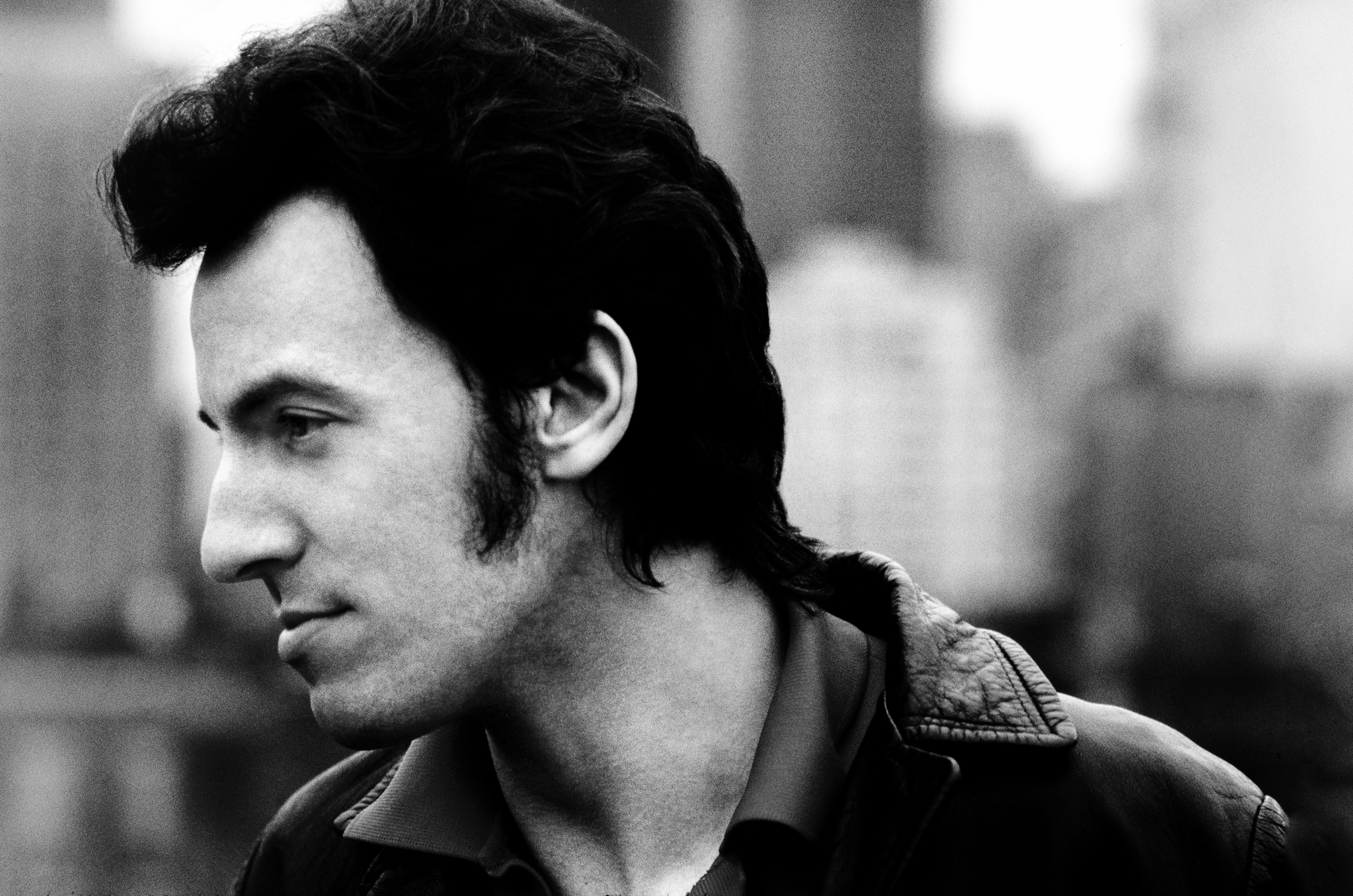 Bruce Springsteen is seen in New York City, c. 1980.