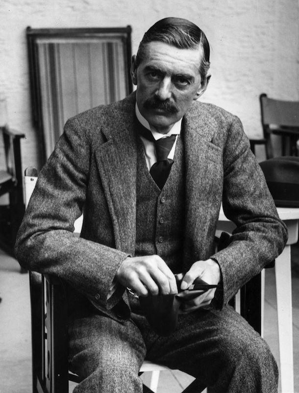 Arthur Neville Chamberlain in September of 1923