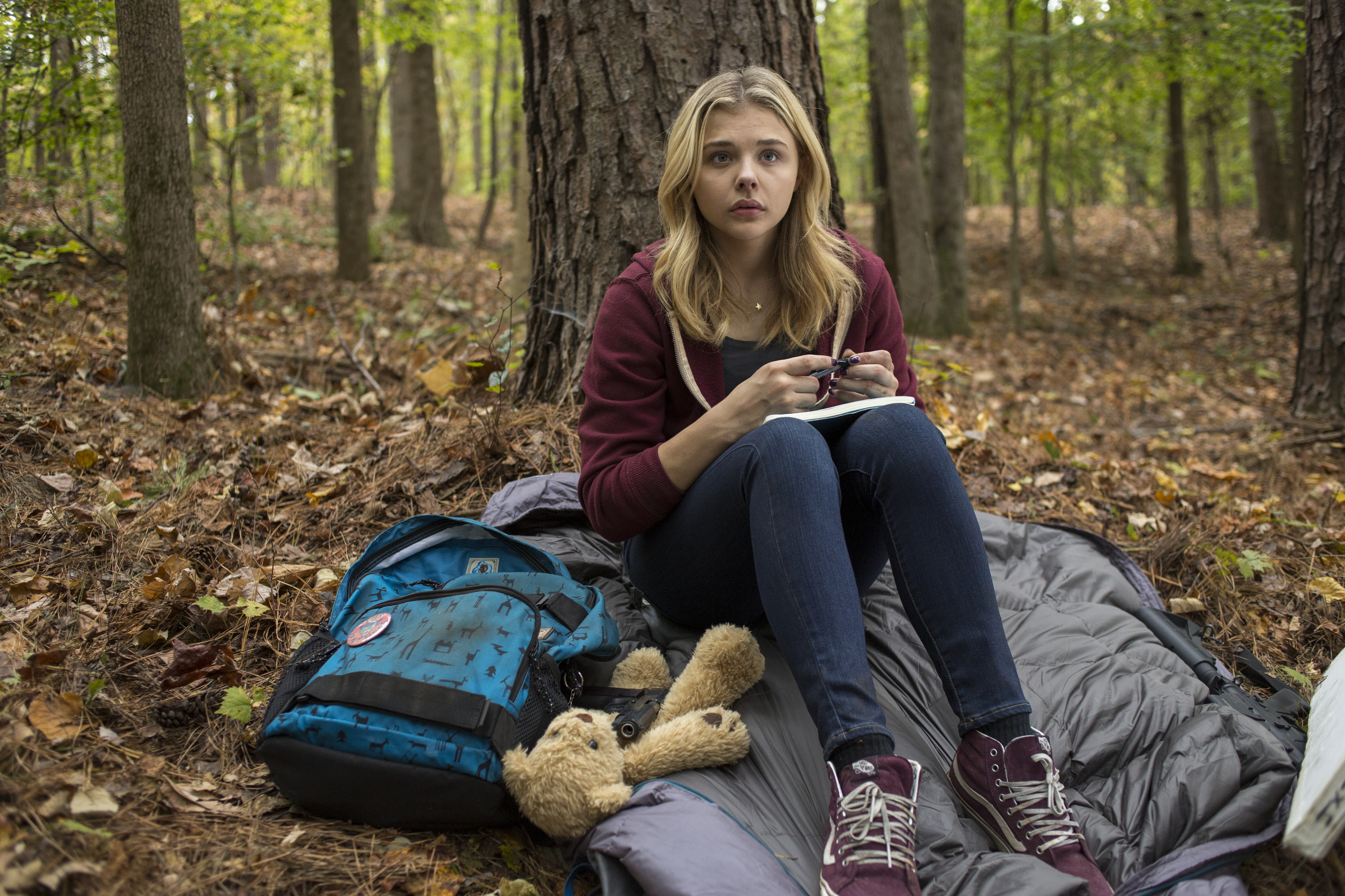 Chloë Grace Moretz in The 5th Wave.