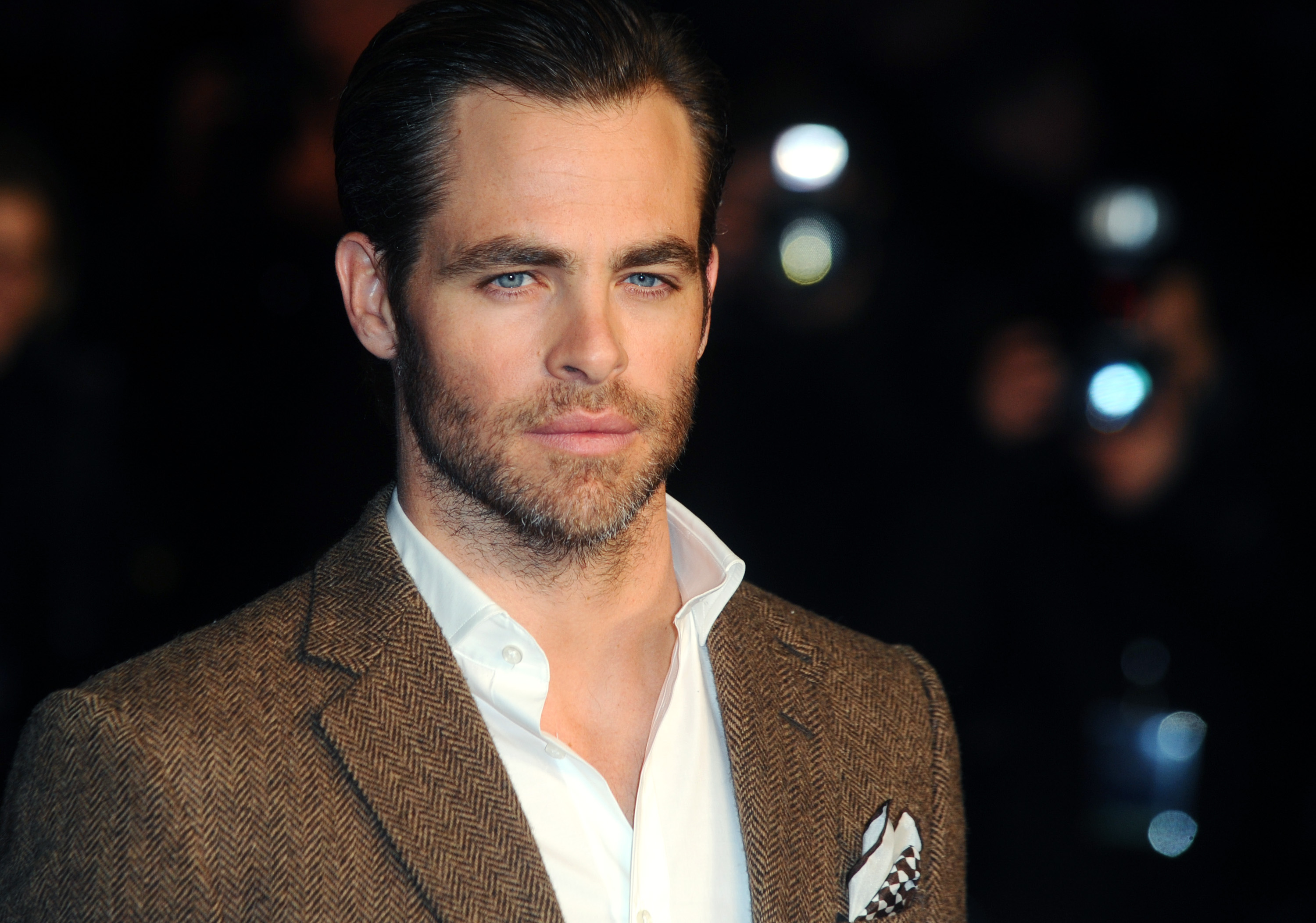 Chris Pine at Vue Leicester Square on Jan. 20, 2014 in London.