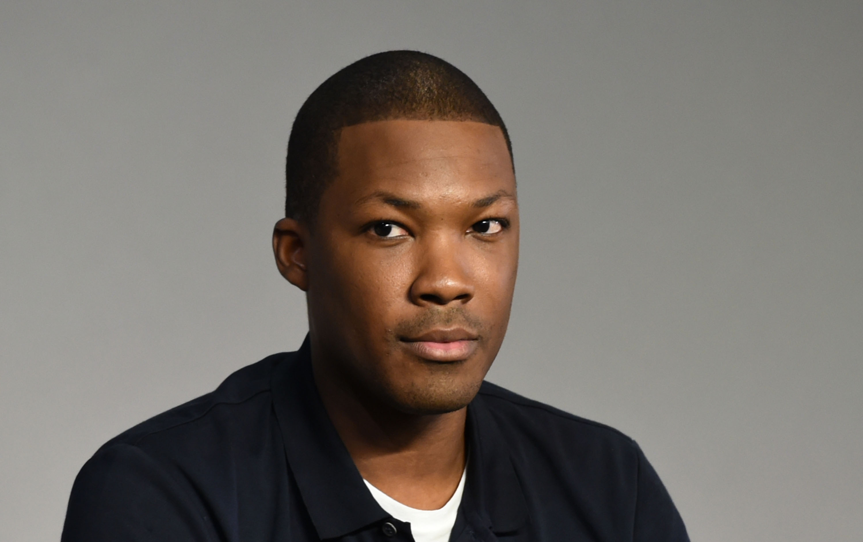 Corey Hawkins attends Apple Store Soho Presents Meet The Filmmaker:  Straight Outta Compton  at Apple Store Soho on August 4, 2015 in New York City.