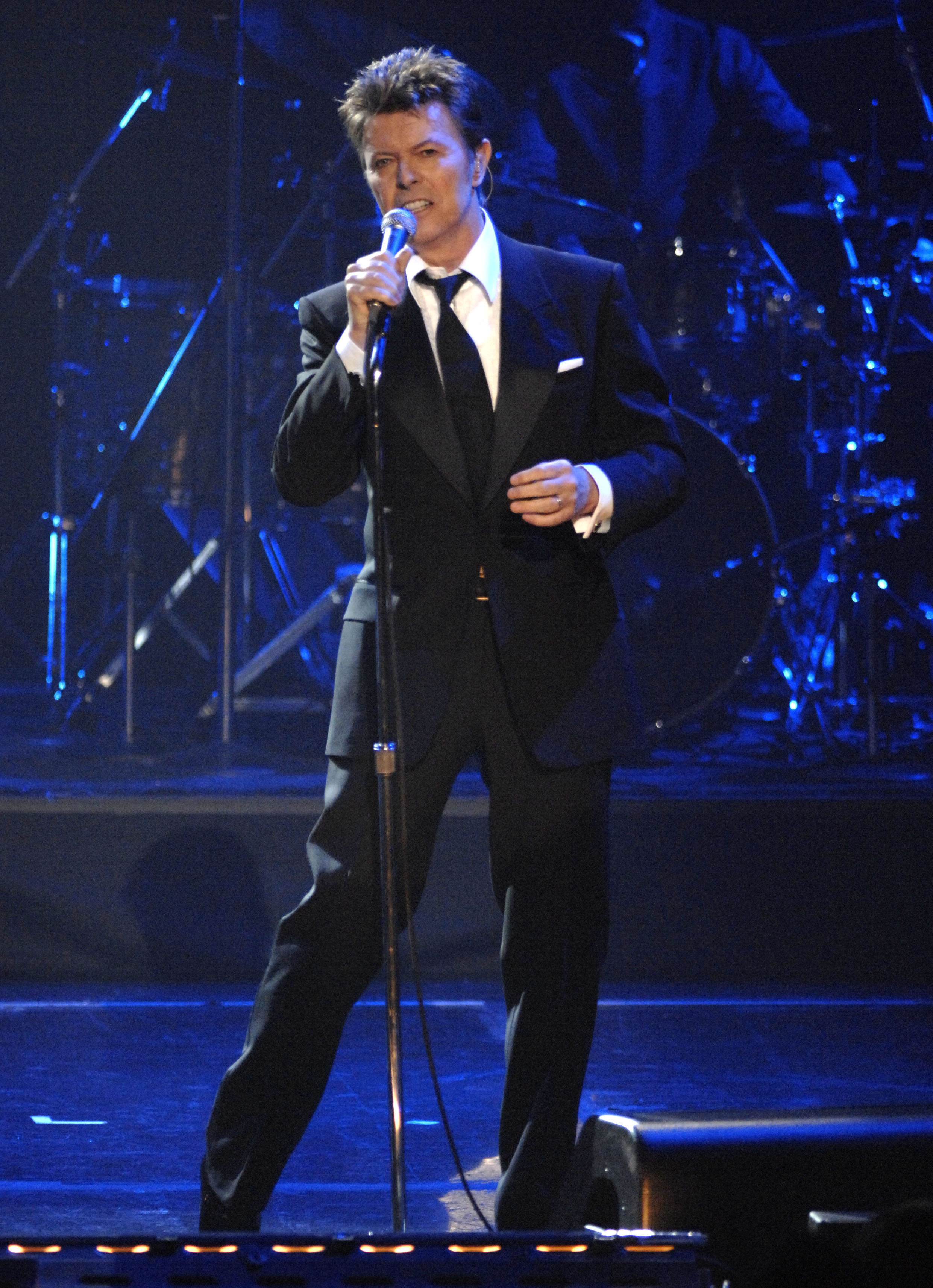 David Bowie during his last live performance on Nov. 09, 2006 in New York City.