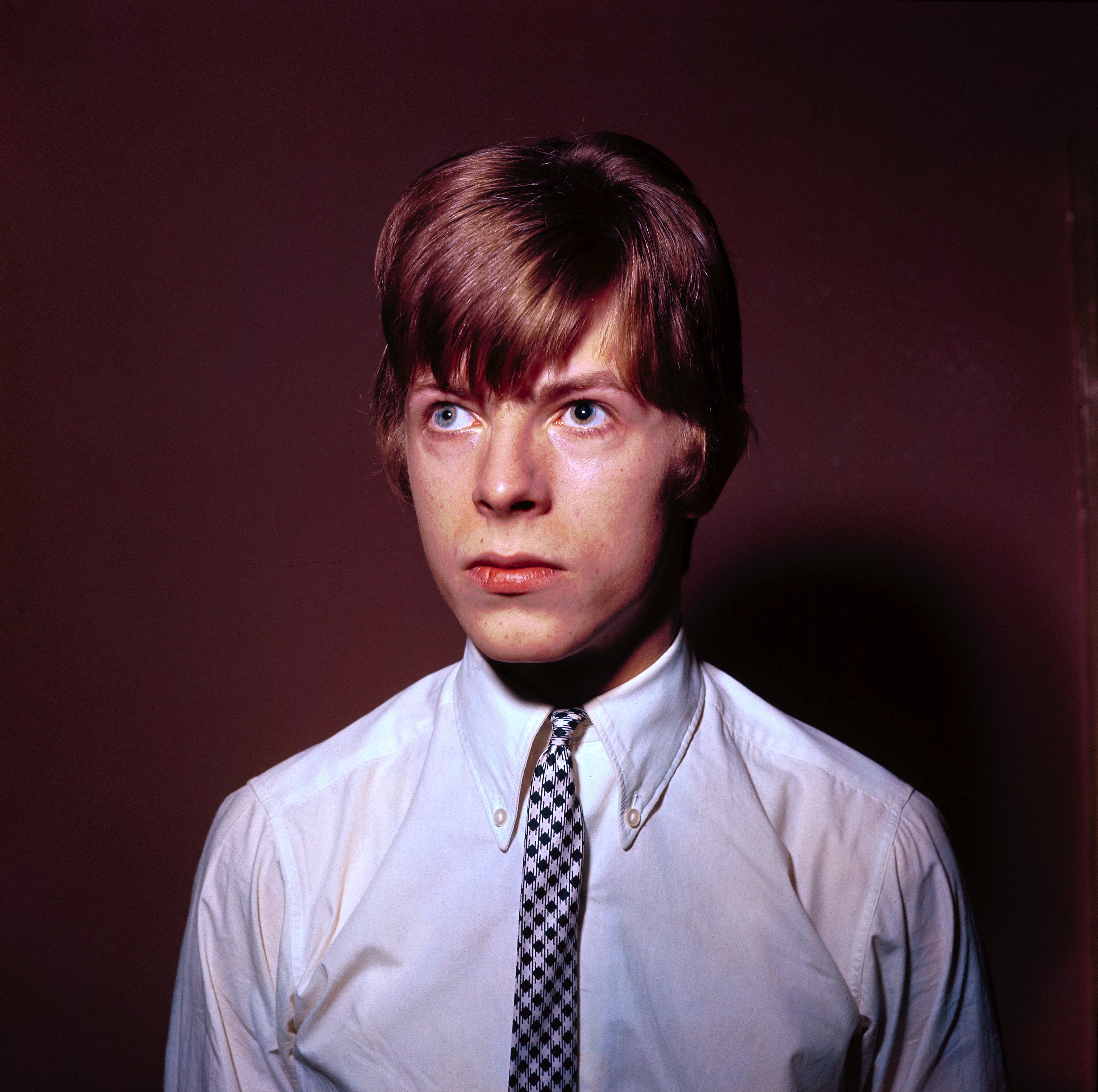 David Bowie is seen c. 1965.