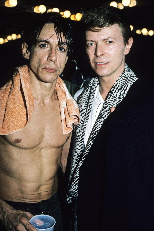 <b>Iggy Pop</b>, <i>The Idiot</i> and <i>Lust for Life</i>, 1977.