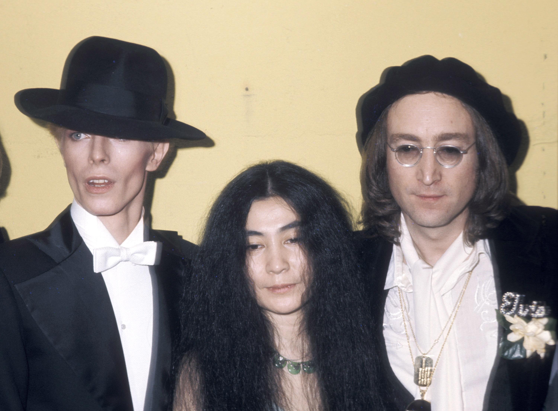 "<b>John Lennon</b>, ""Fame,"" 1975."