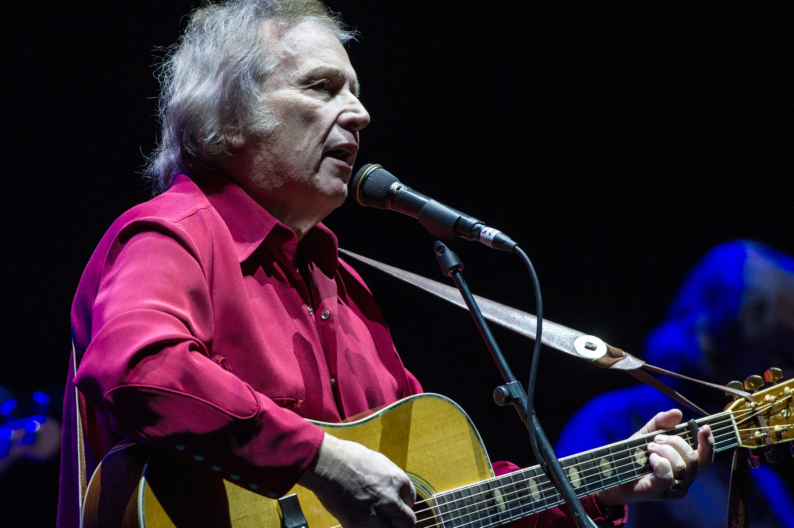 Don McLean performs in May 2015.