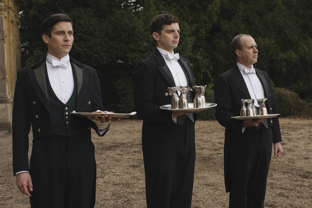 Footmen on 'Downton Abbey'