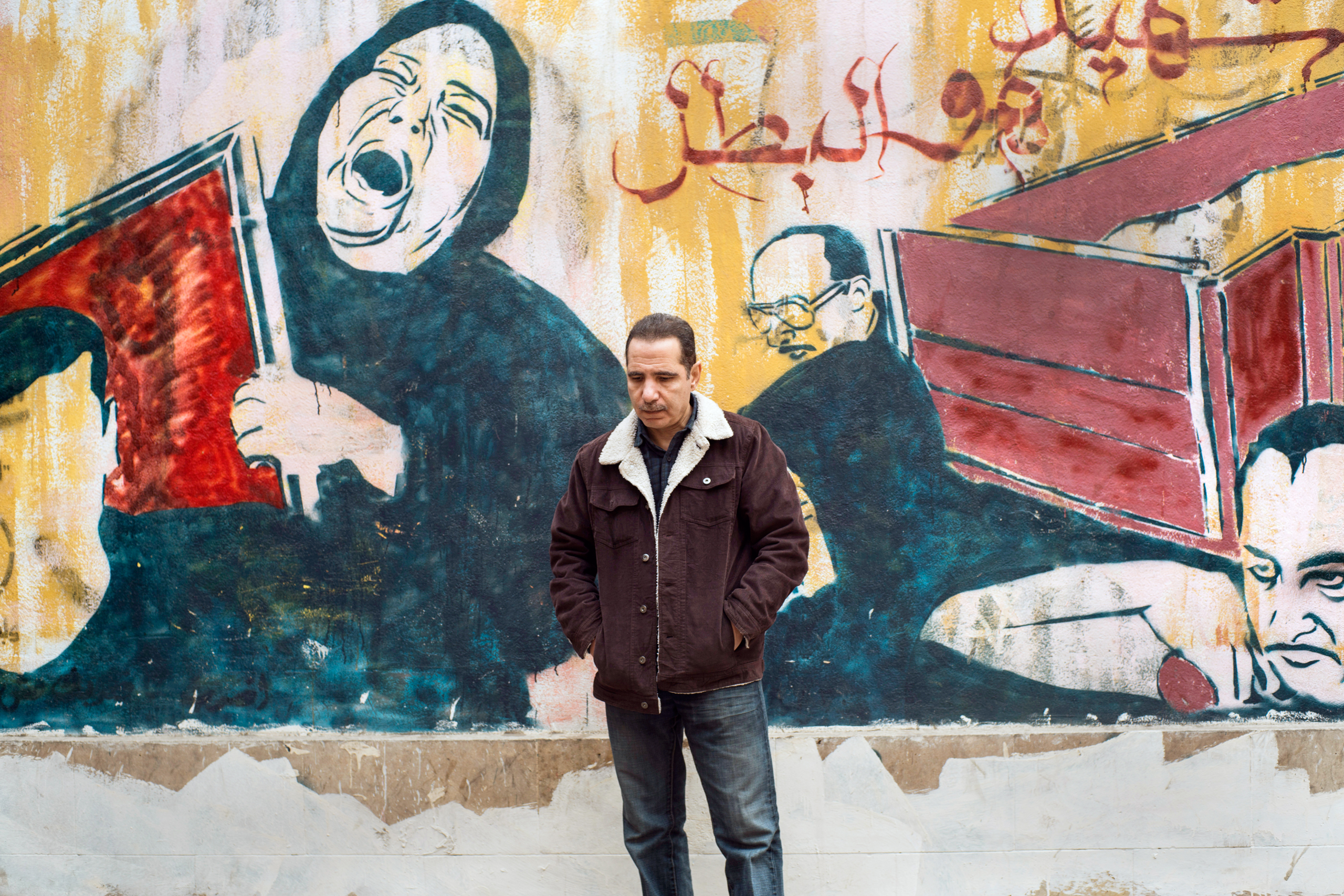 Ali Hassan Ali became an activist for reform after his son was killed by government security forces during the 2011 protests in Cairo                                          (David Degner / Time Magazine)